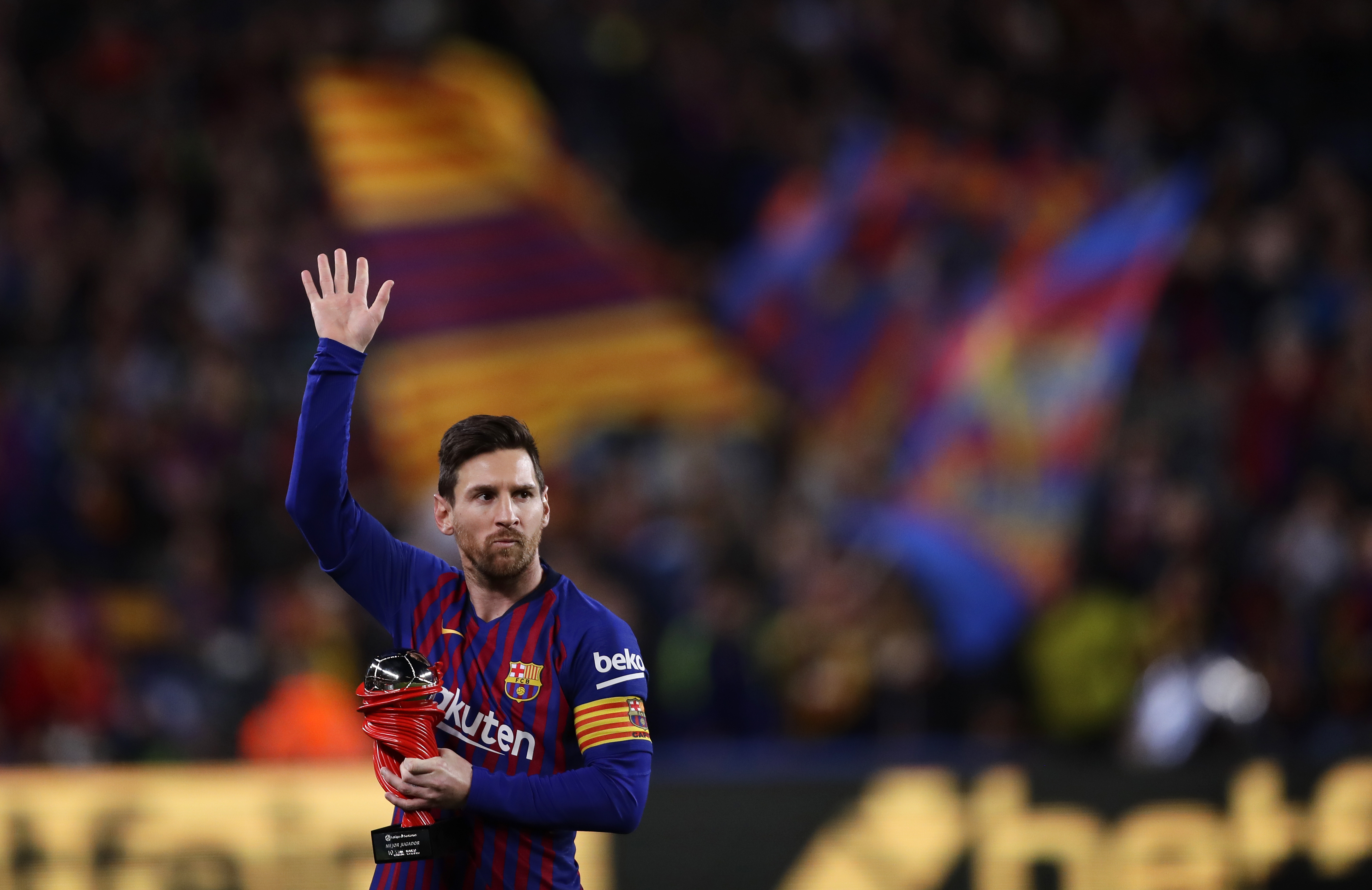 FC Barcelona said that La Liga's financial regulations made it impossible to sign Lionel Messi to a new contract.