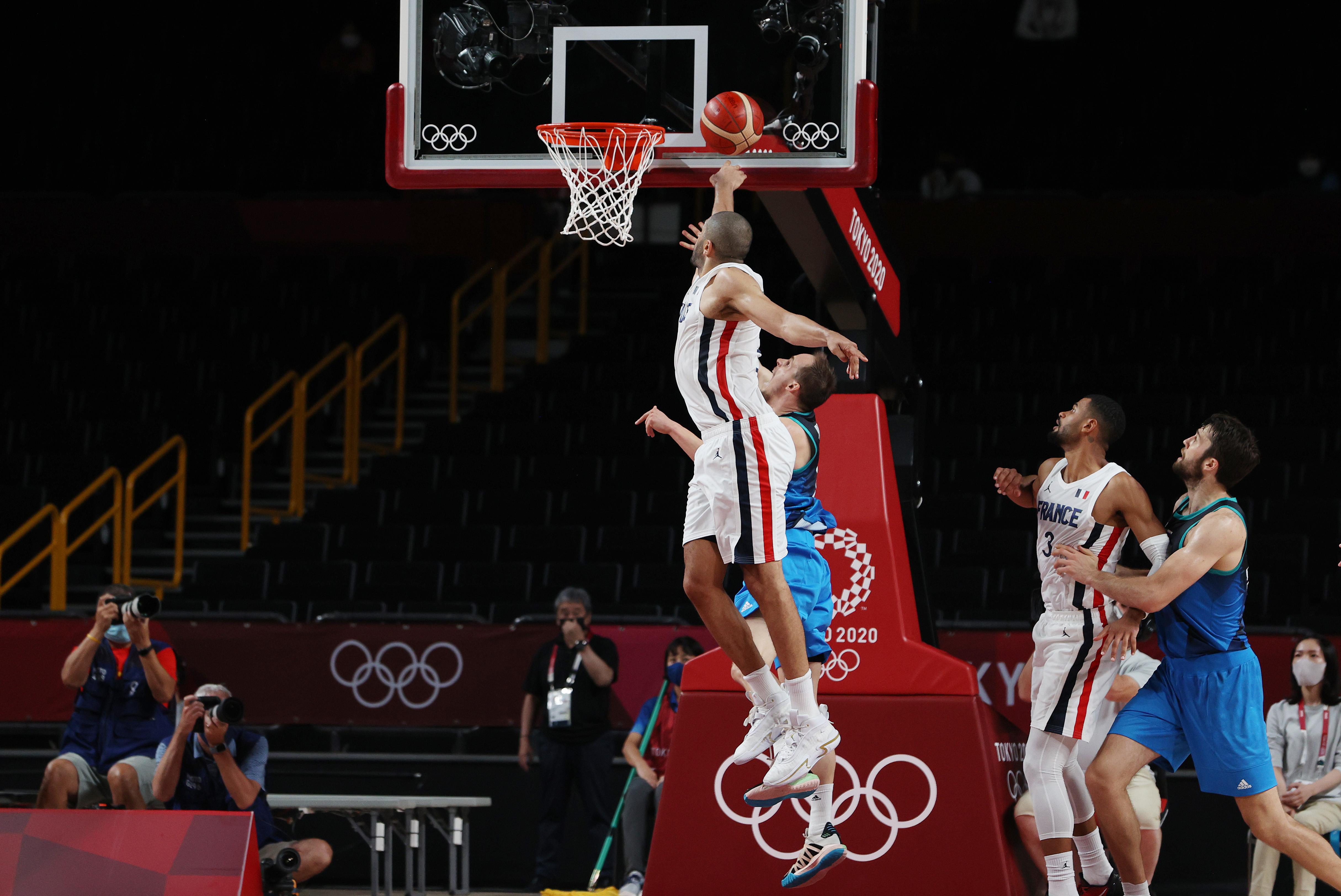 France v Slovenia Men's Basketball - Olympics: Day 13