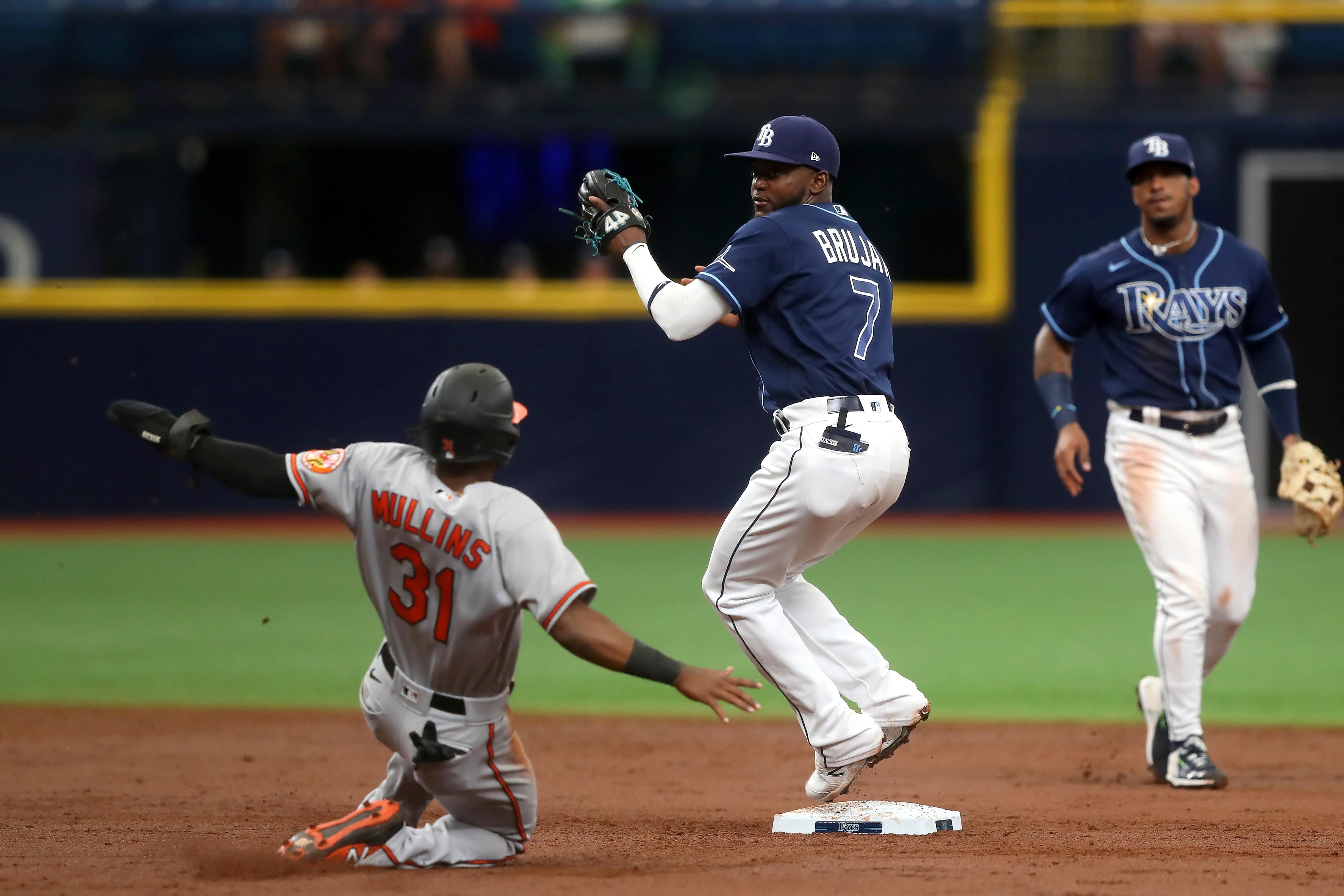 MLB: JUL 21 Orioles at Rays