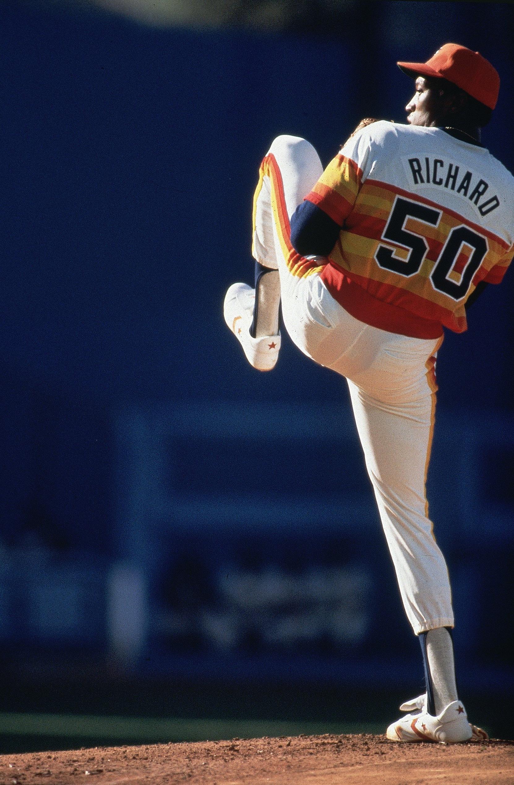 Houston Astros J.R. Richard, 1980 All Star Game