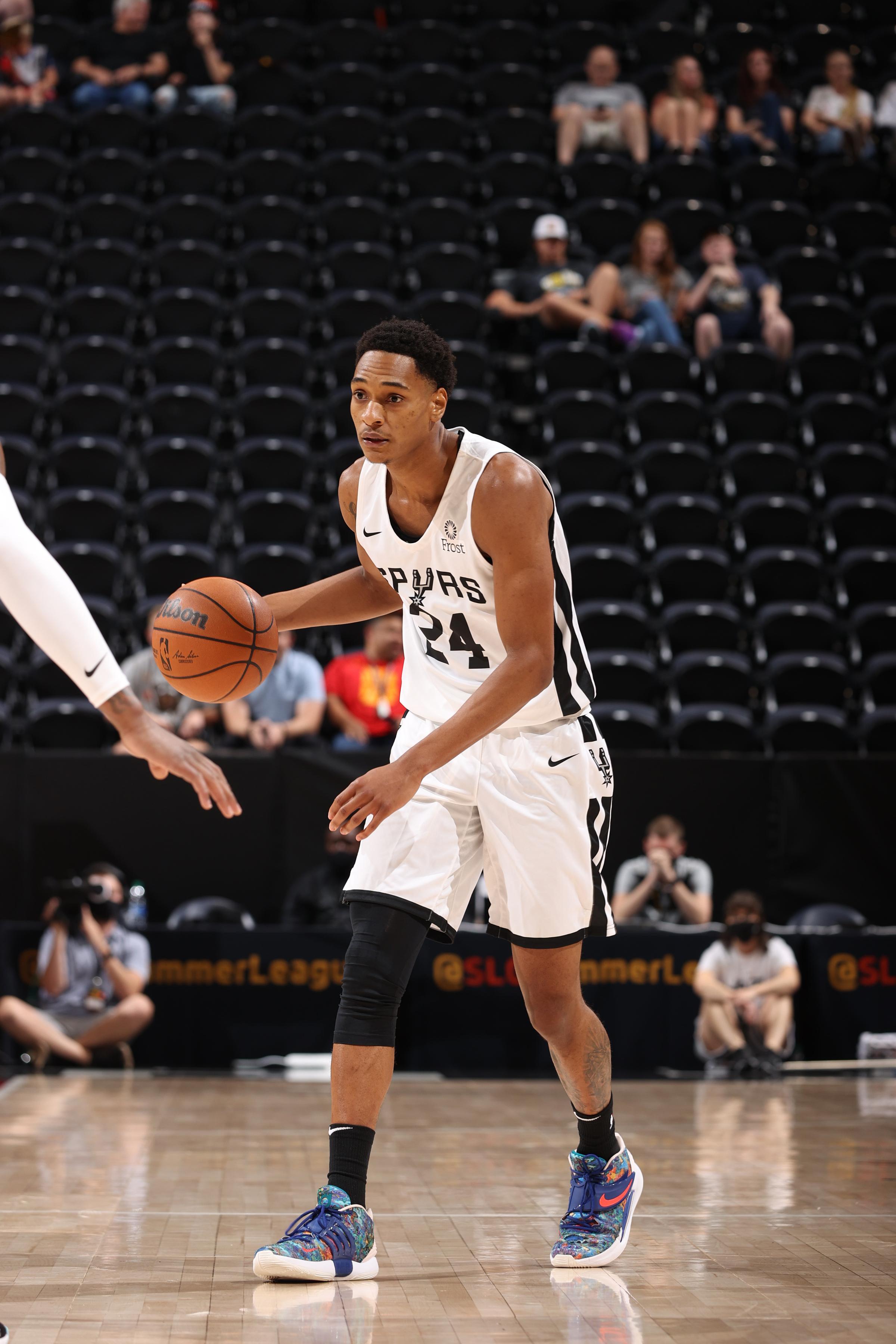 2021 Salt Lake City Summer League: San Antonio Spurs v Utah Jazz Blue