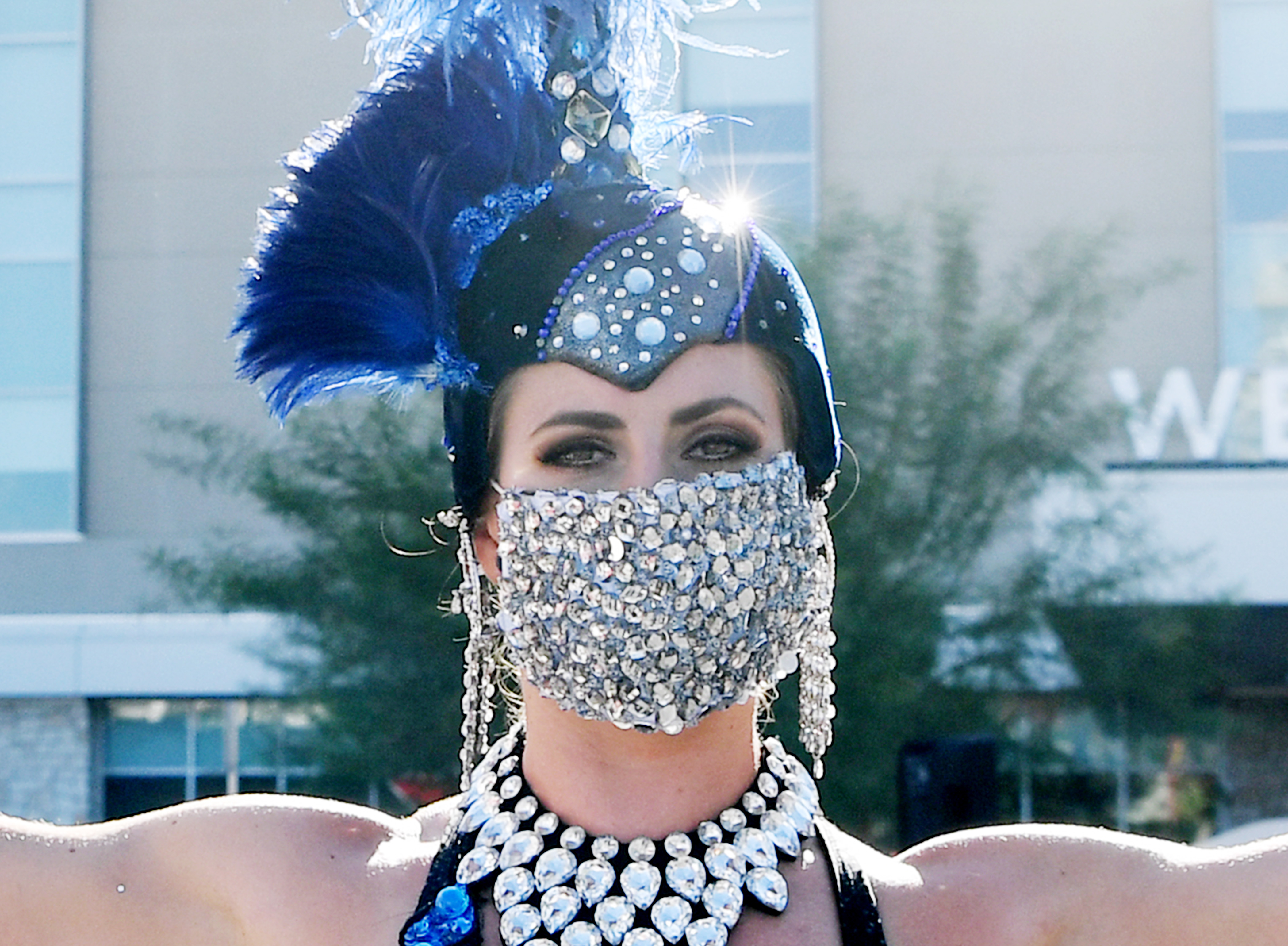 Southern Nevada's Healthcare Community Teams Up With Only-In-Las Vegas Pop Up Parades & Performances To Support #MaskUpNV PSA Campaign