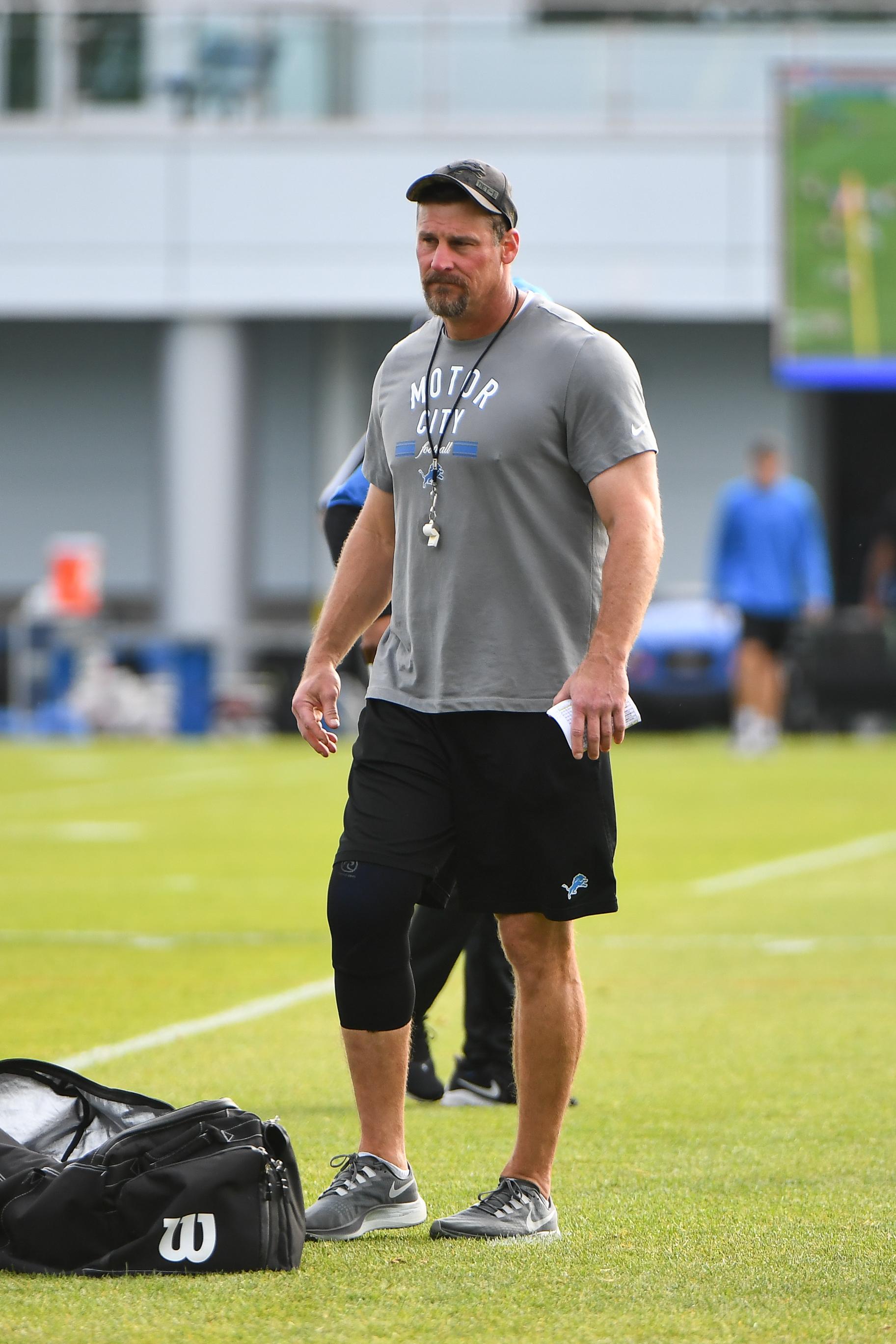 NFL: AUG 03 Detriot Lions Training Camp