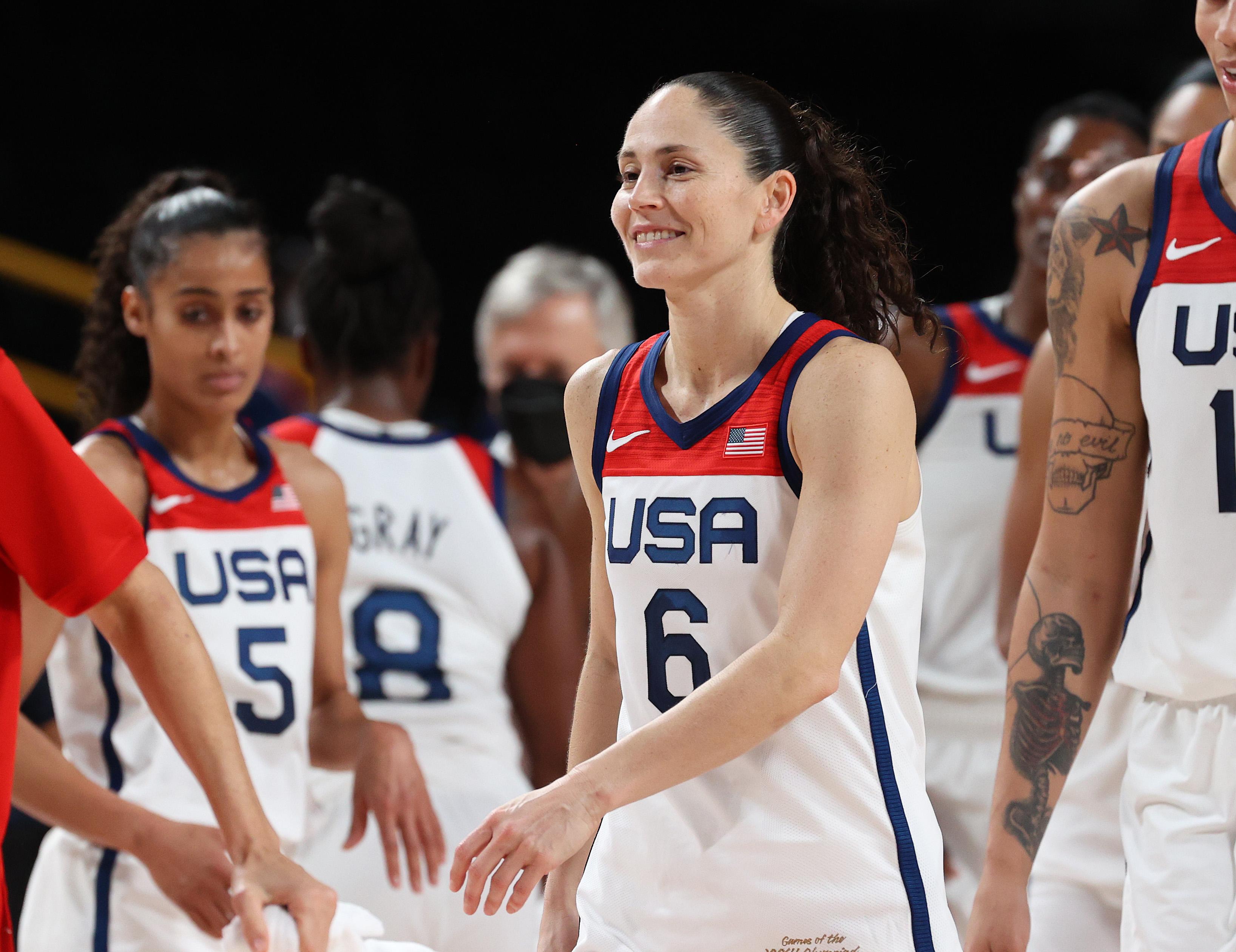 United States v Serbia Women's Basketball - Olympics: Day 14