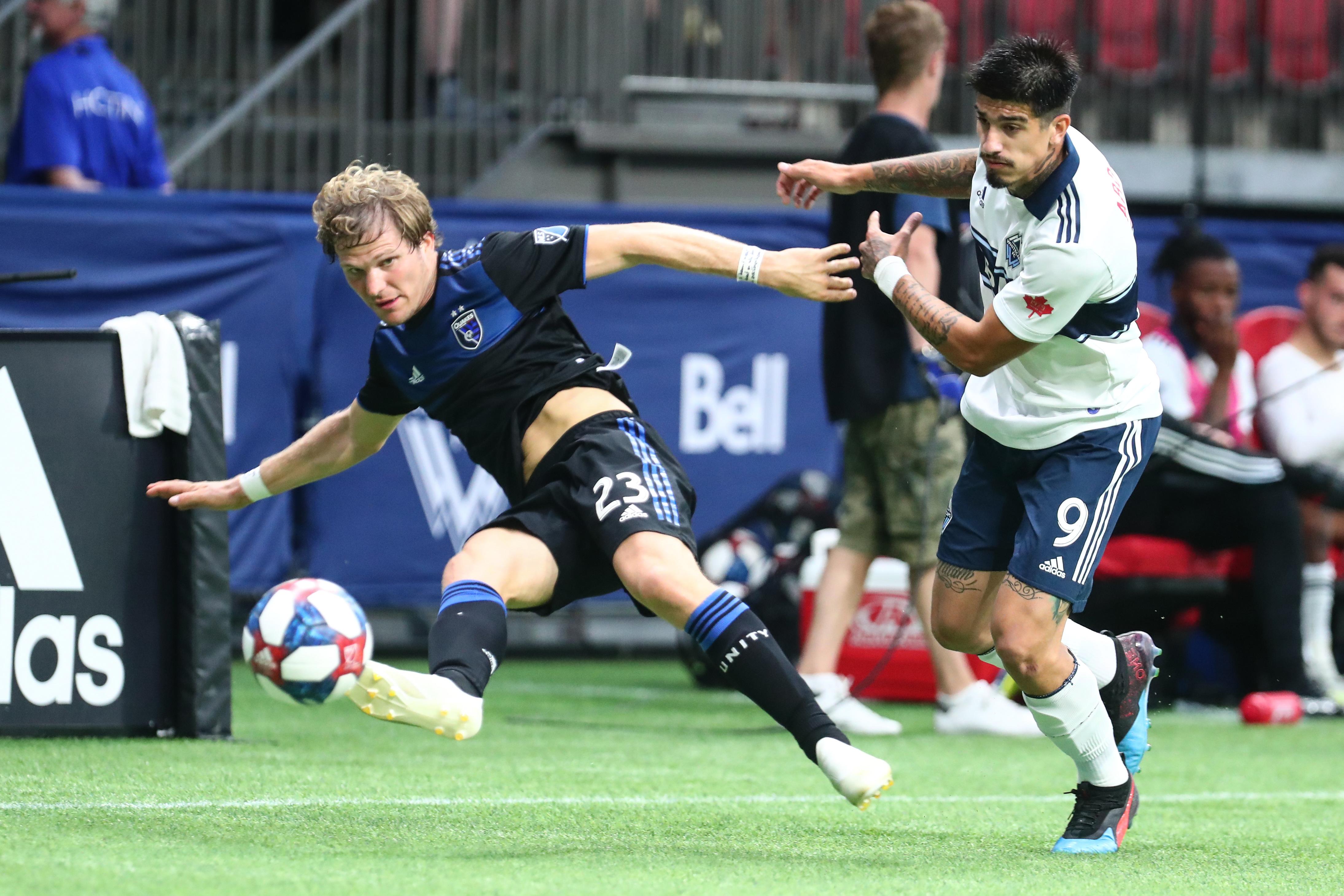 SOCCER: JUL 20 MLS - San Jose Earthquakes at Vancouver Whitecaps