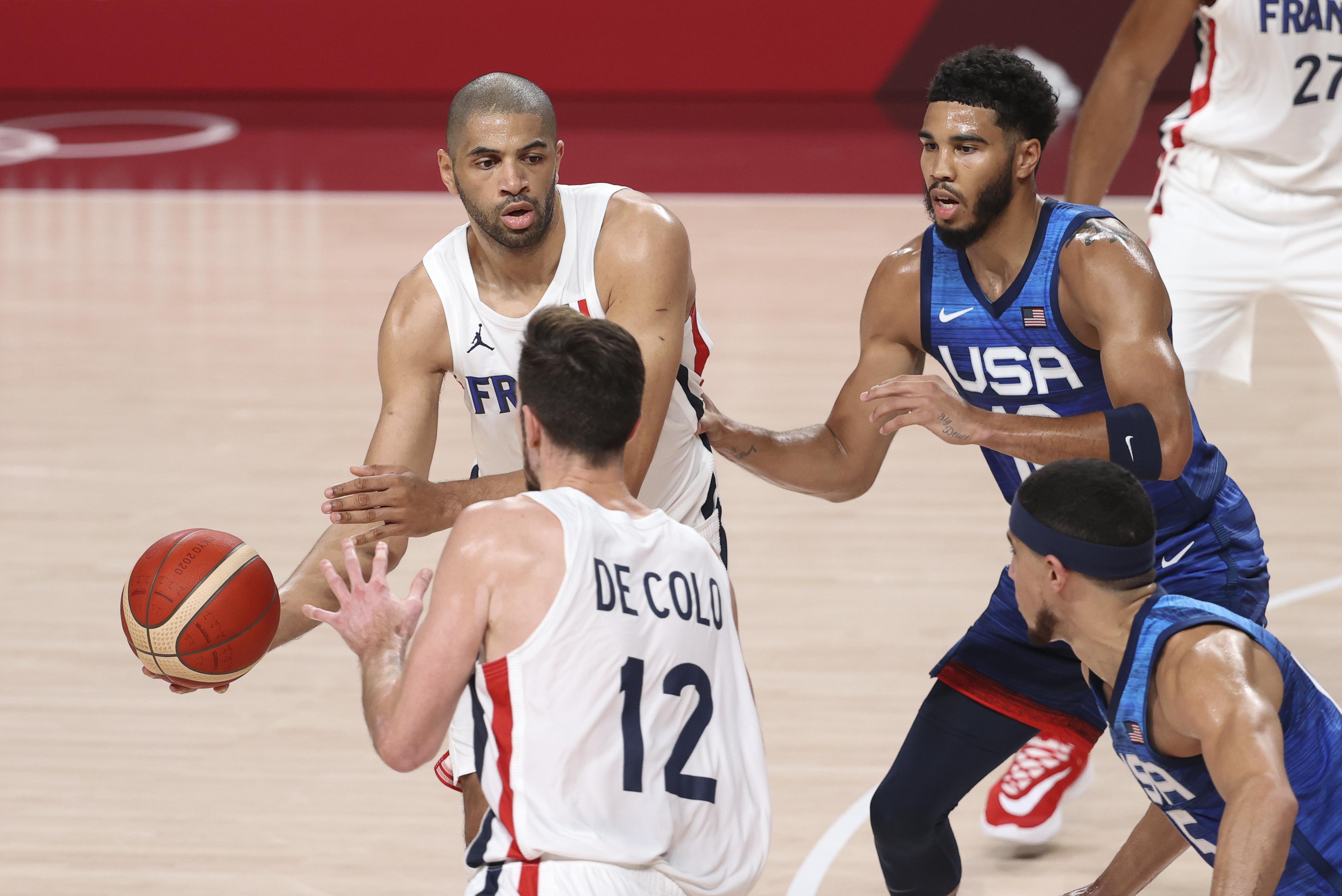 United States v France Men's Basketball - Olympics: Day 2