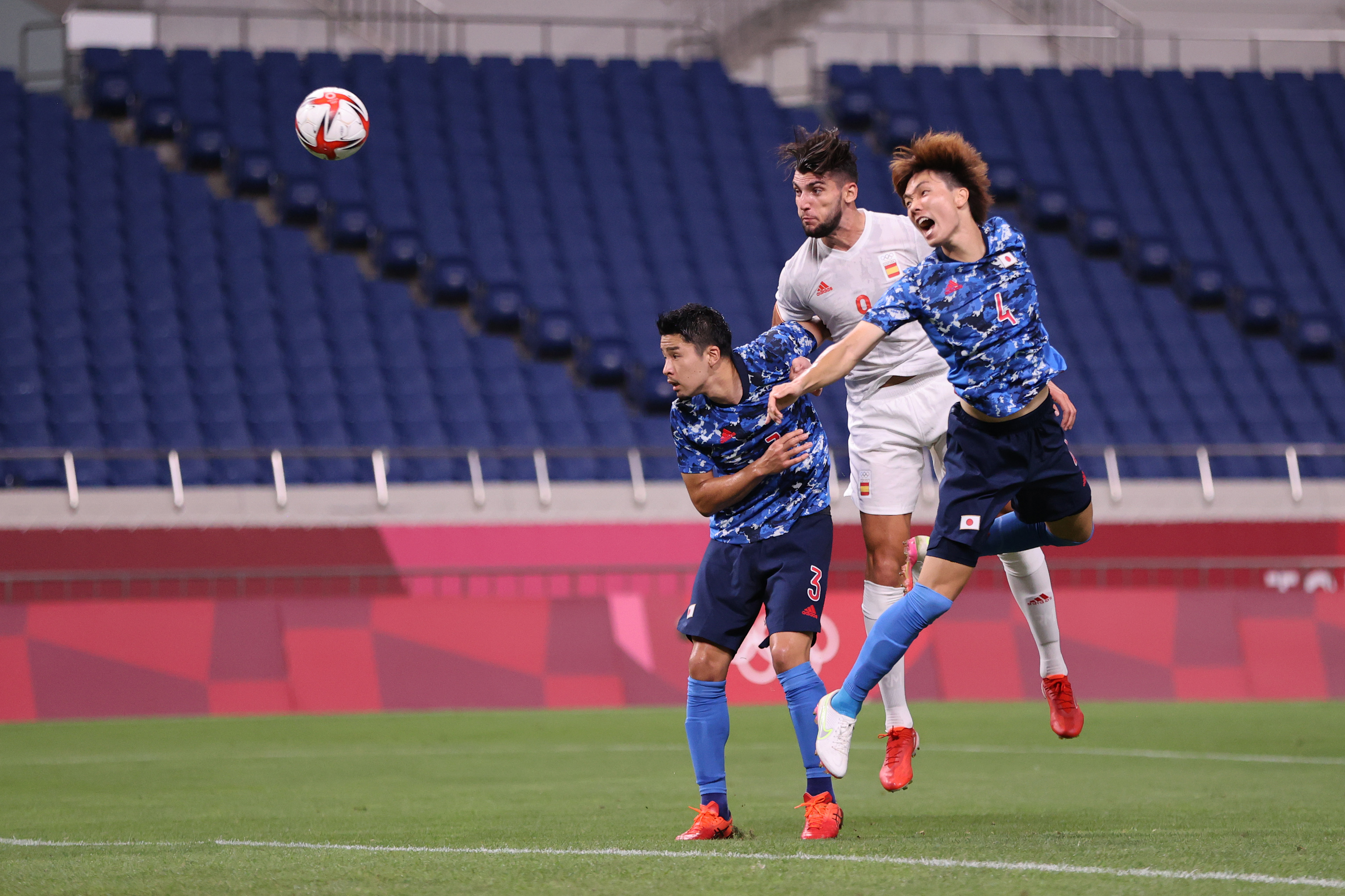 Japan v Spain: Men's Football Semi-final - Olympics: Day 11