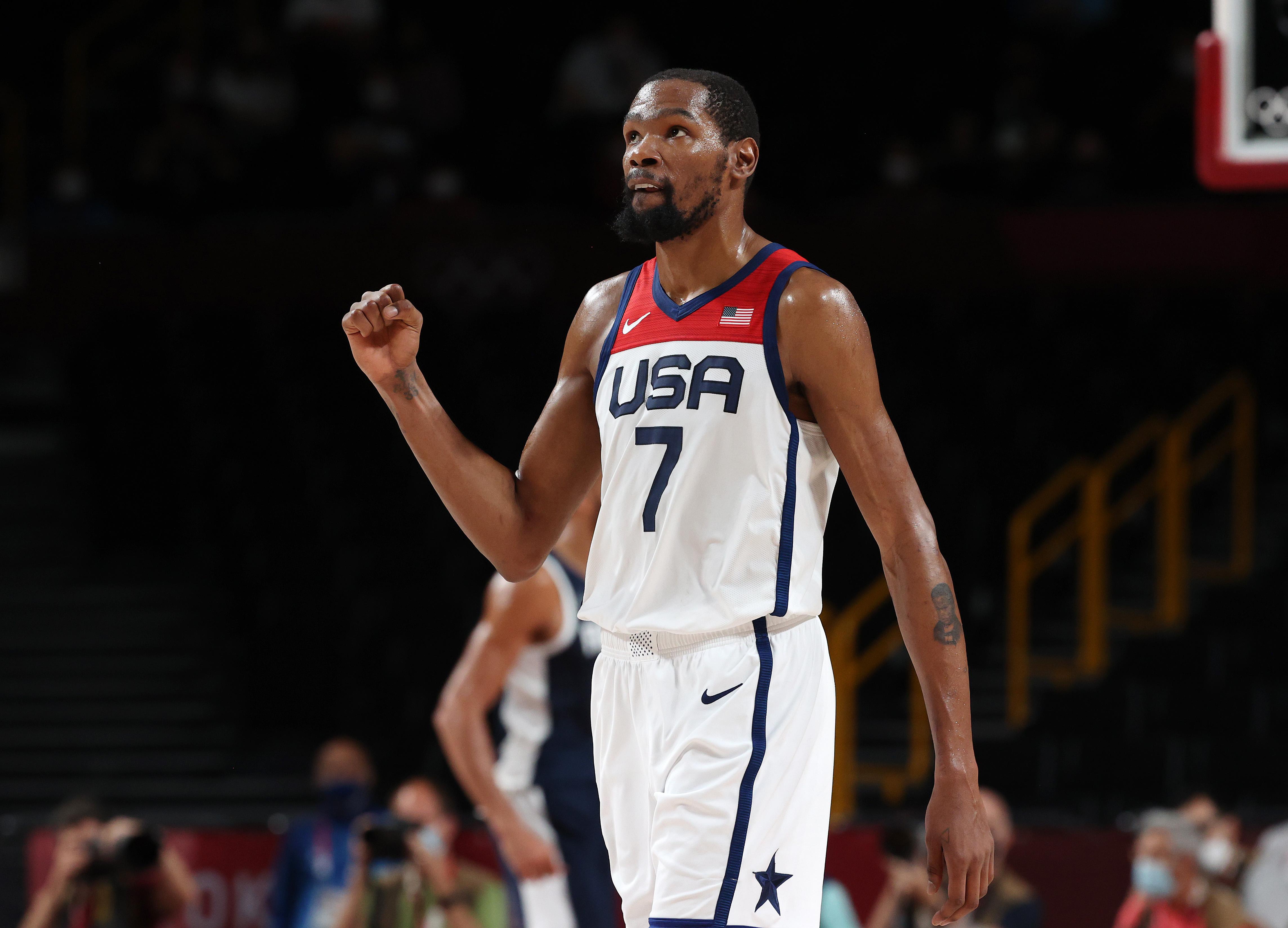United States v France Men's Basketball - Olympics: Day 15