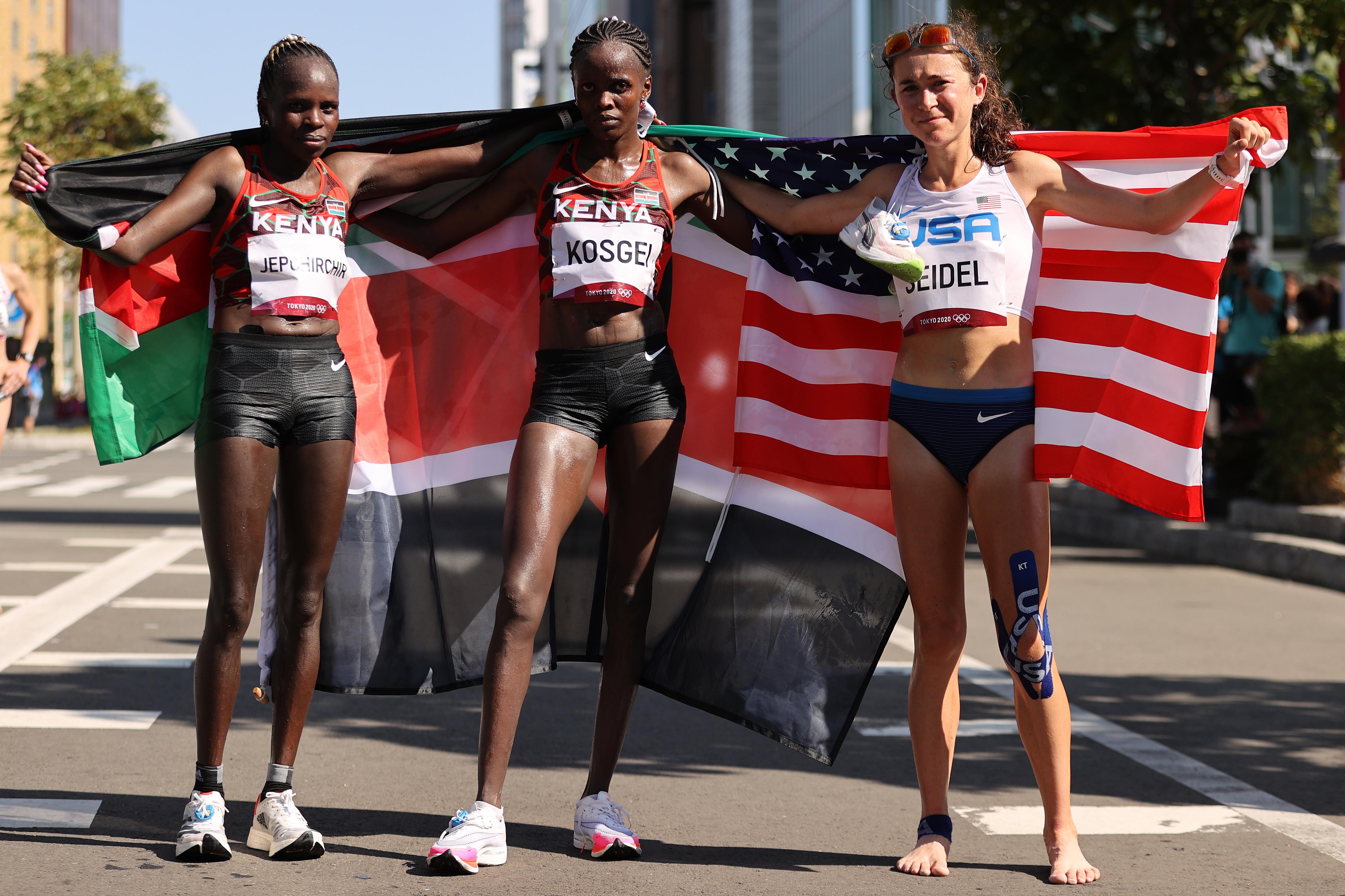 Athletics Marathon - Olympics: Day 15