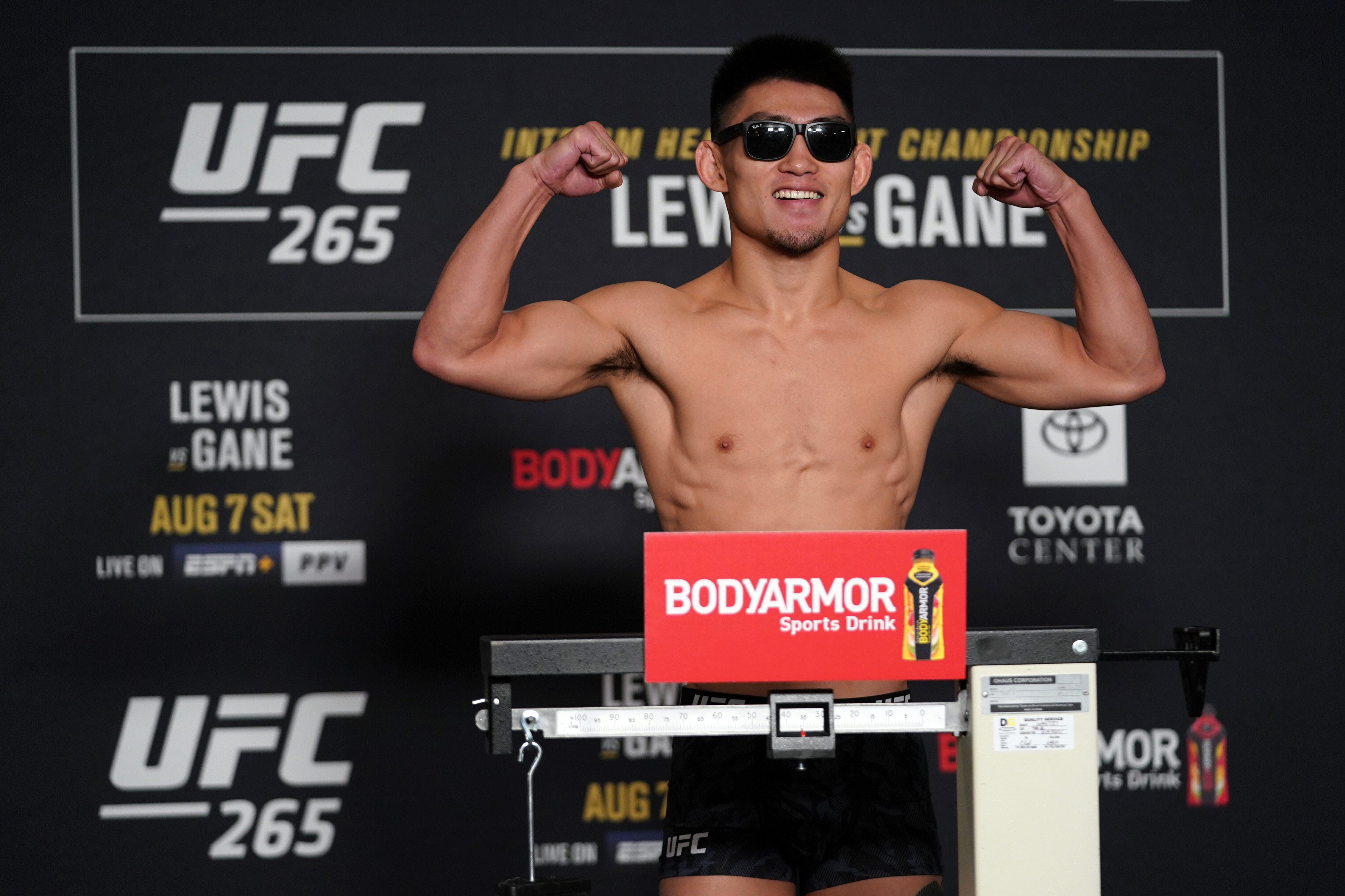 UFC 265 Weigh-in