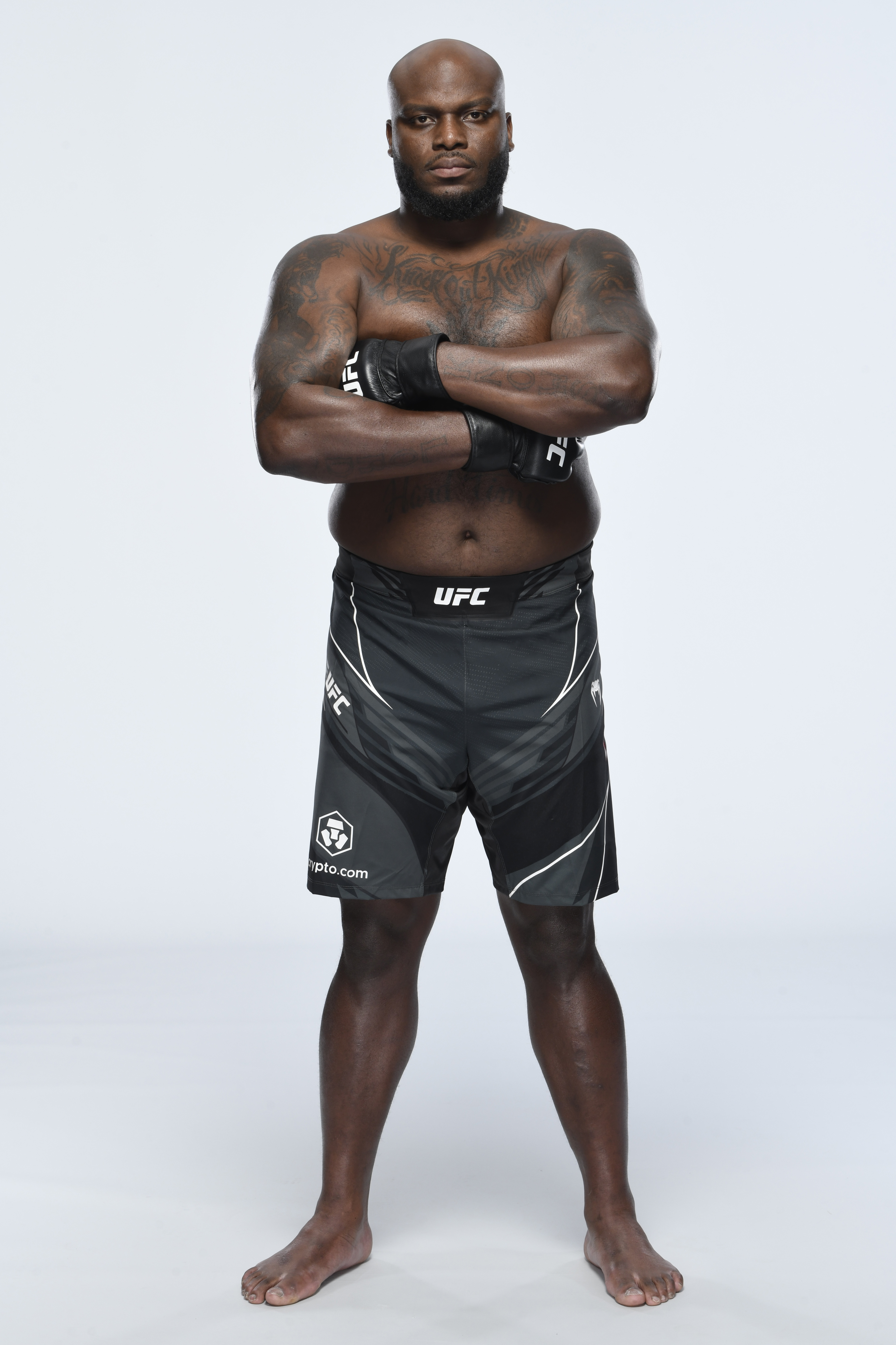 Derrick Lewis poses for a portrait during a UFC photo session on August 4, 2021 in Houston, Texas.