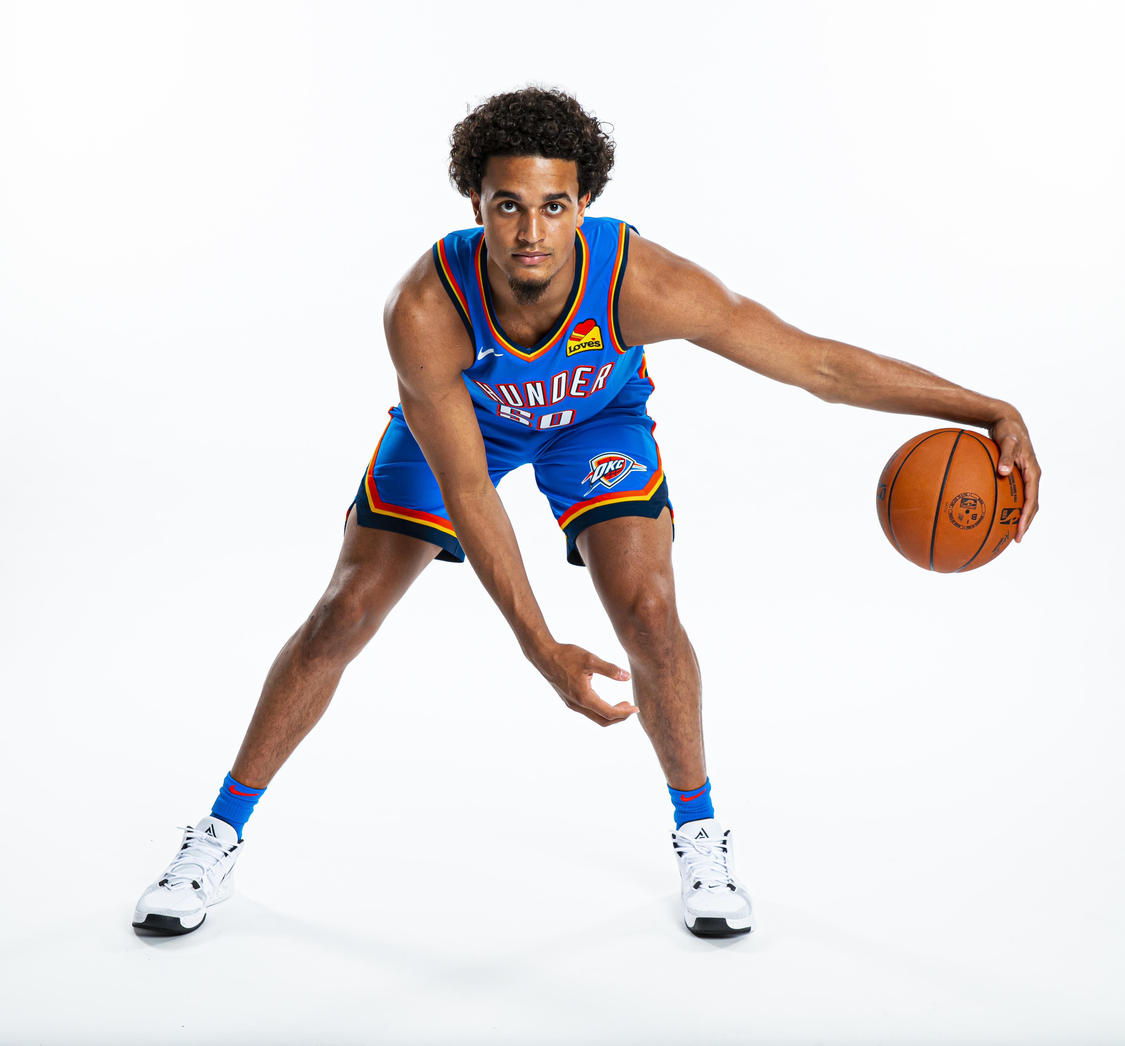 Oklahoma City Thunder Introduce Draft Picks - Portraits