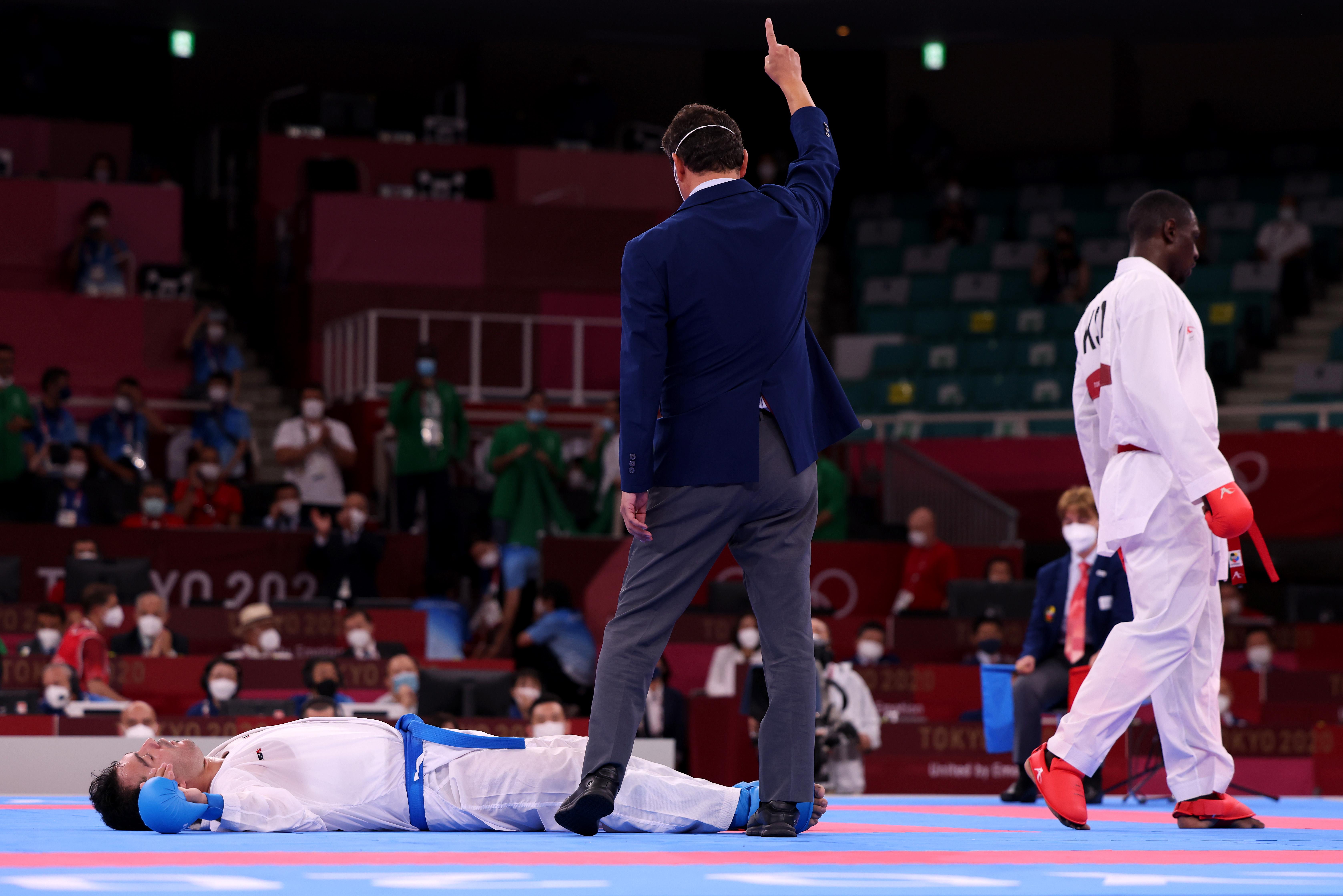 Karate - Olympics: Day 15