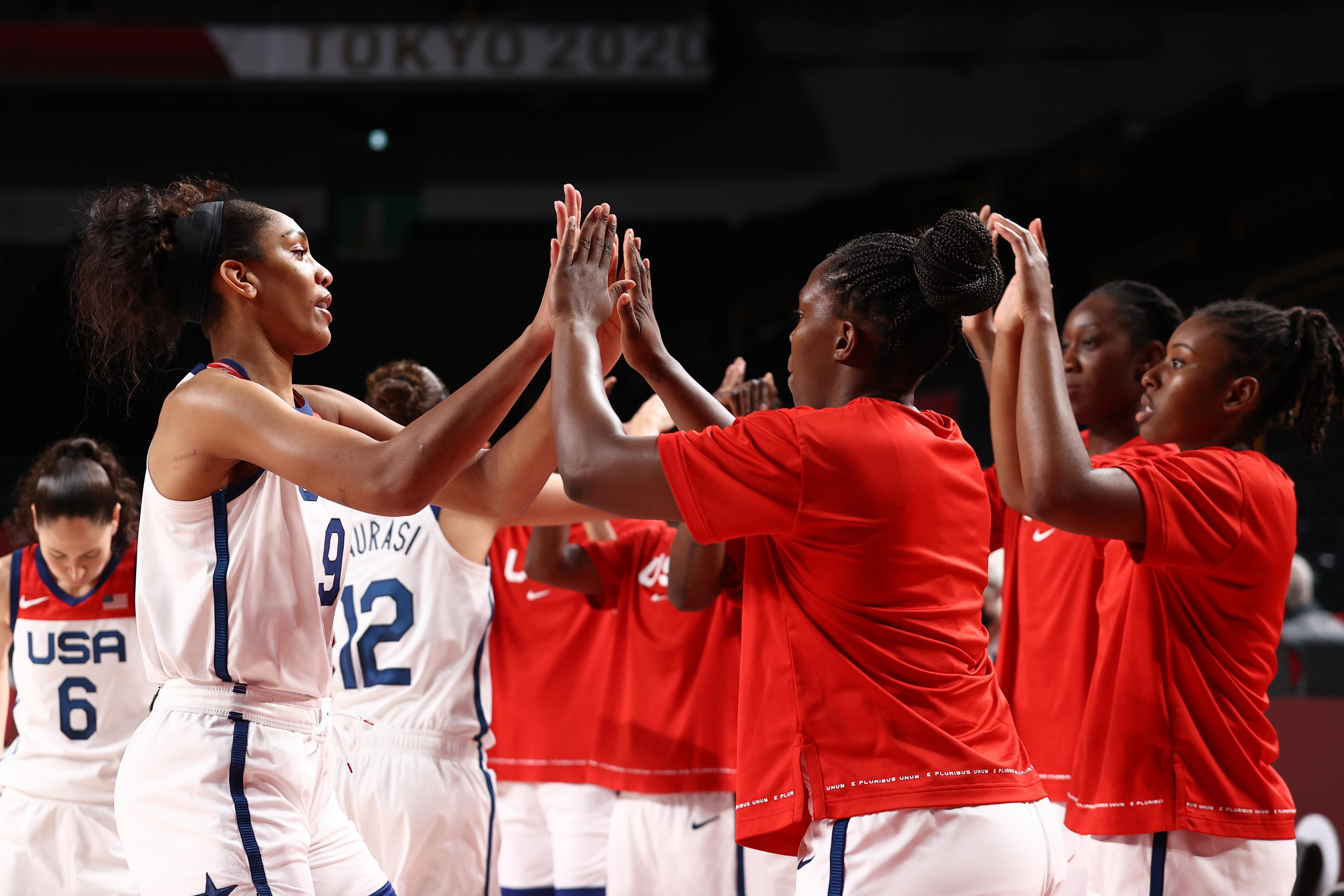2020 Tokyo Olympics: USA v Serbia