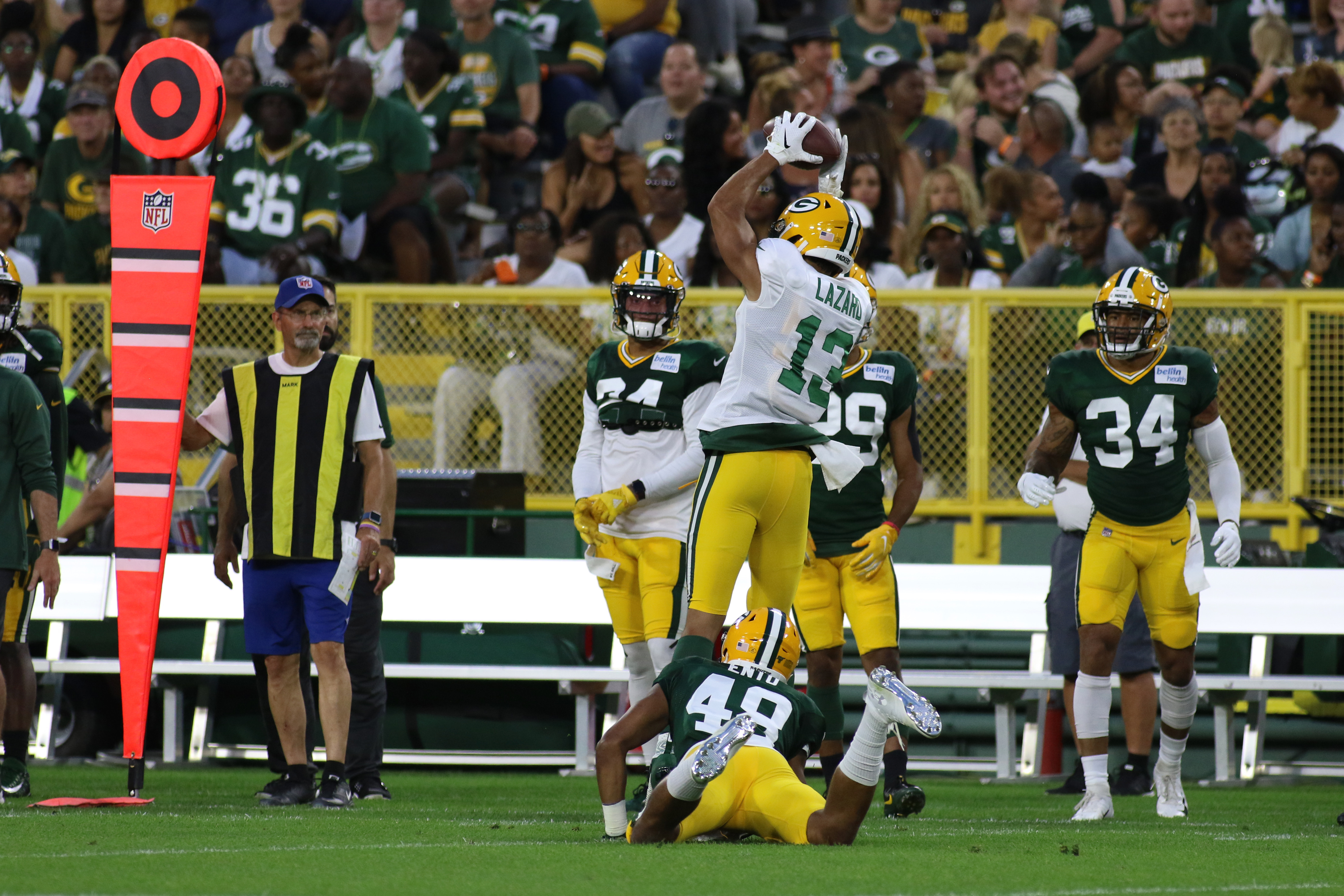 NFL: AUG 02 Packers Training Camp & Family Night