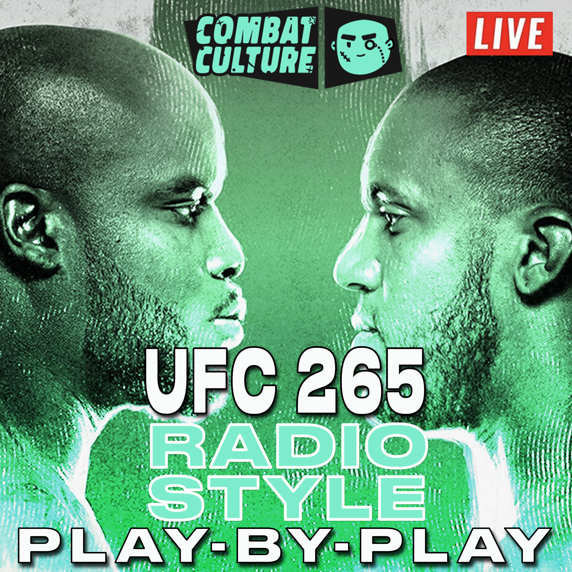 UFC 265, Radio-Style Commentary, UFC Play-by-Play, Matt Ryan, UFC 265 Radio-Style PBP Live Commentary, Lewis vs Gane, UFC Podcast, MMA Podcast,