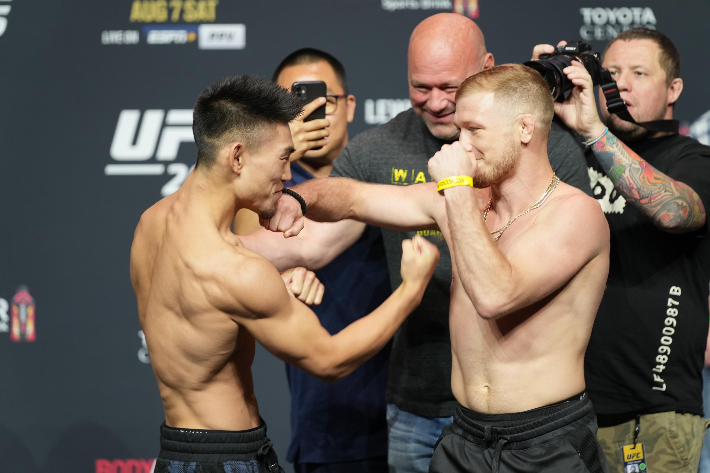 MMA: AUG 06 UFC 265 - Ceremonial Weigh-In