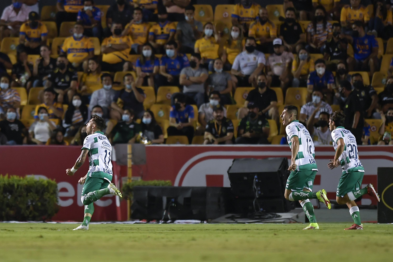 Tigres UANL v Santos Laguna - Torneo Grita Mexico A21 Liga MX