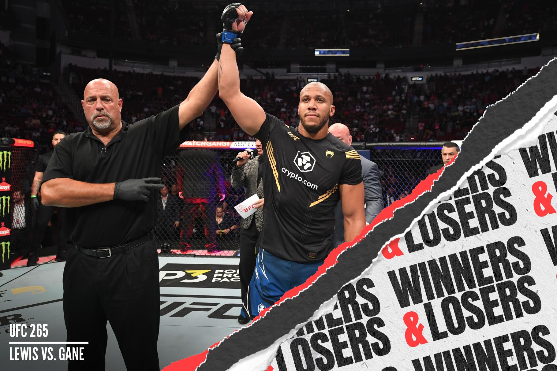 Ciryl Gane became the UFC interim heavyweight champion after beating Derrick Lewis at UFC 265.