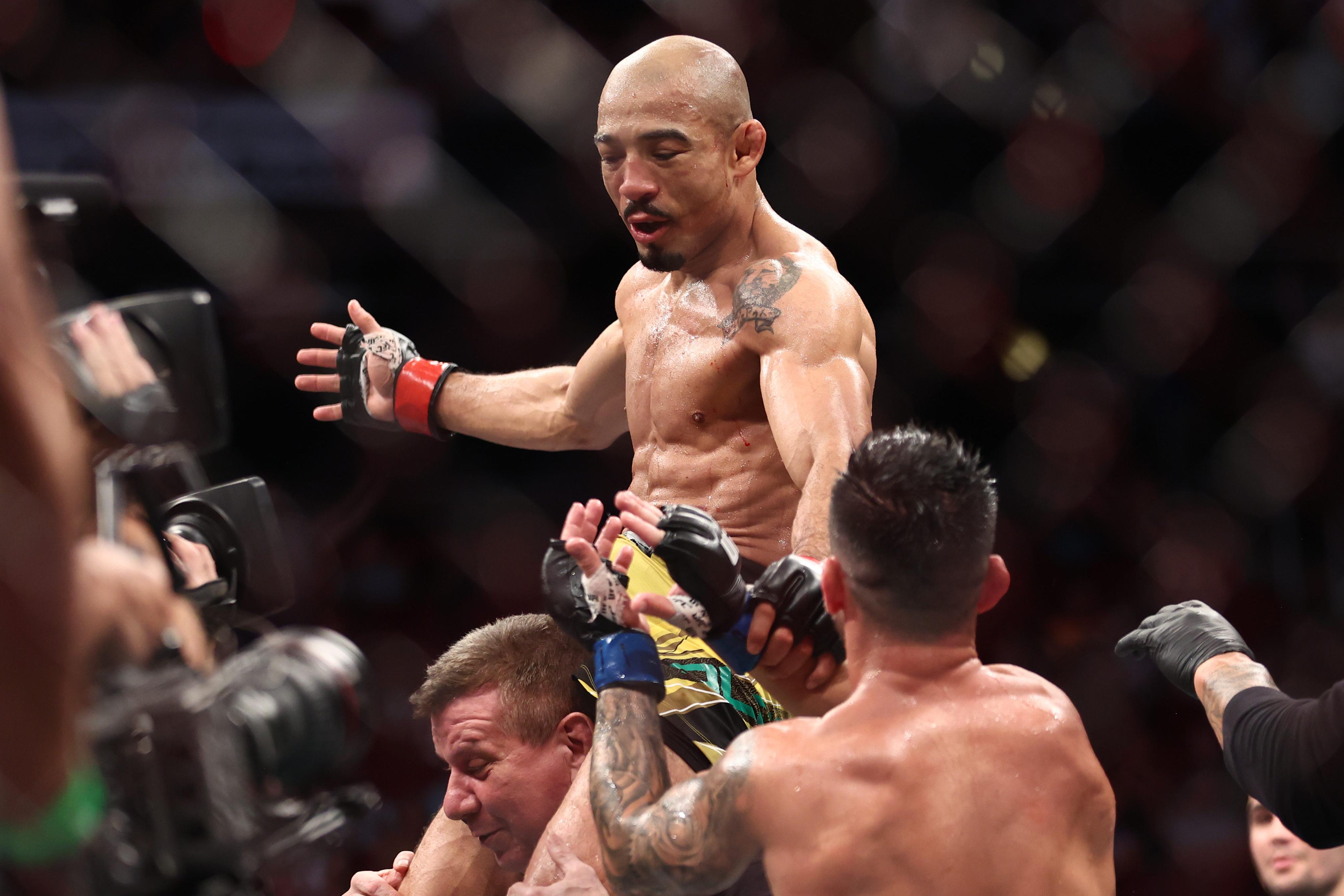 MMA: UFC 265-Aldo vs Munhoz