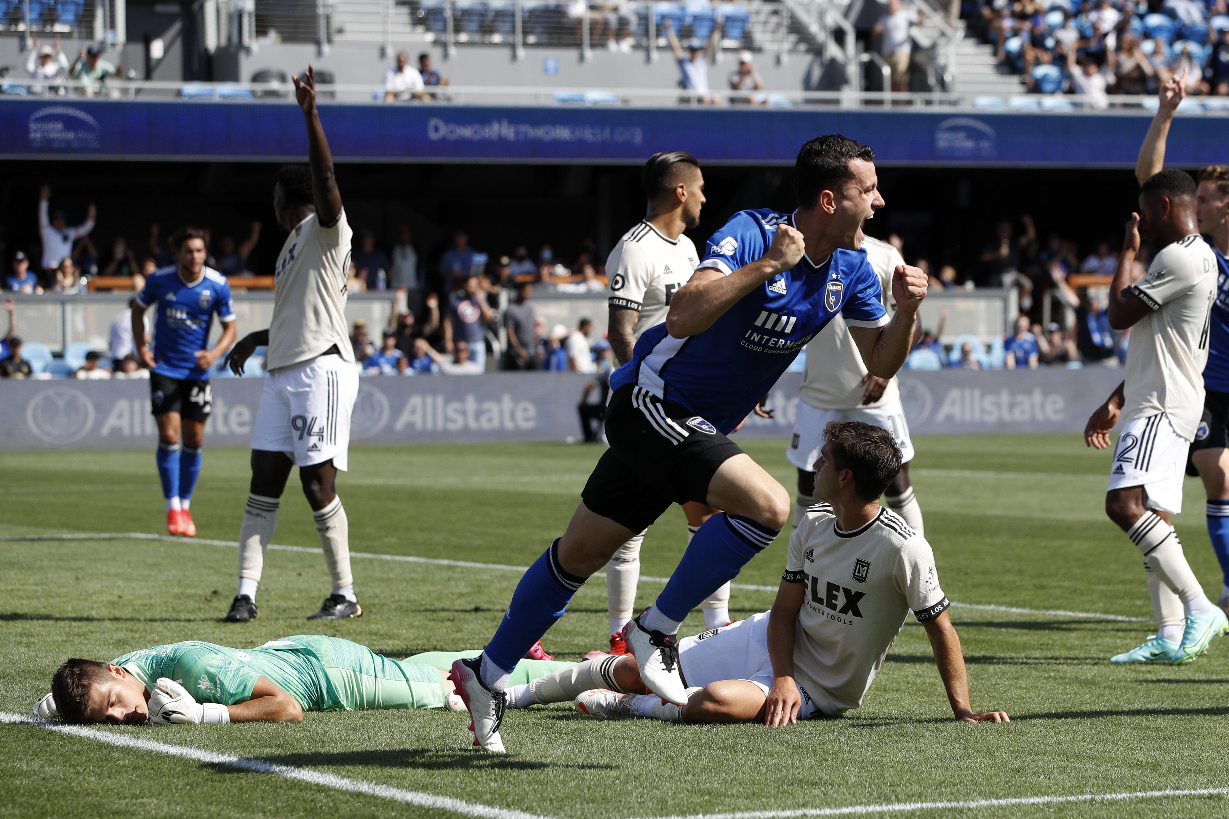 MLS: Los Angeles FC at San Jose Earthquakes