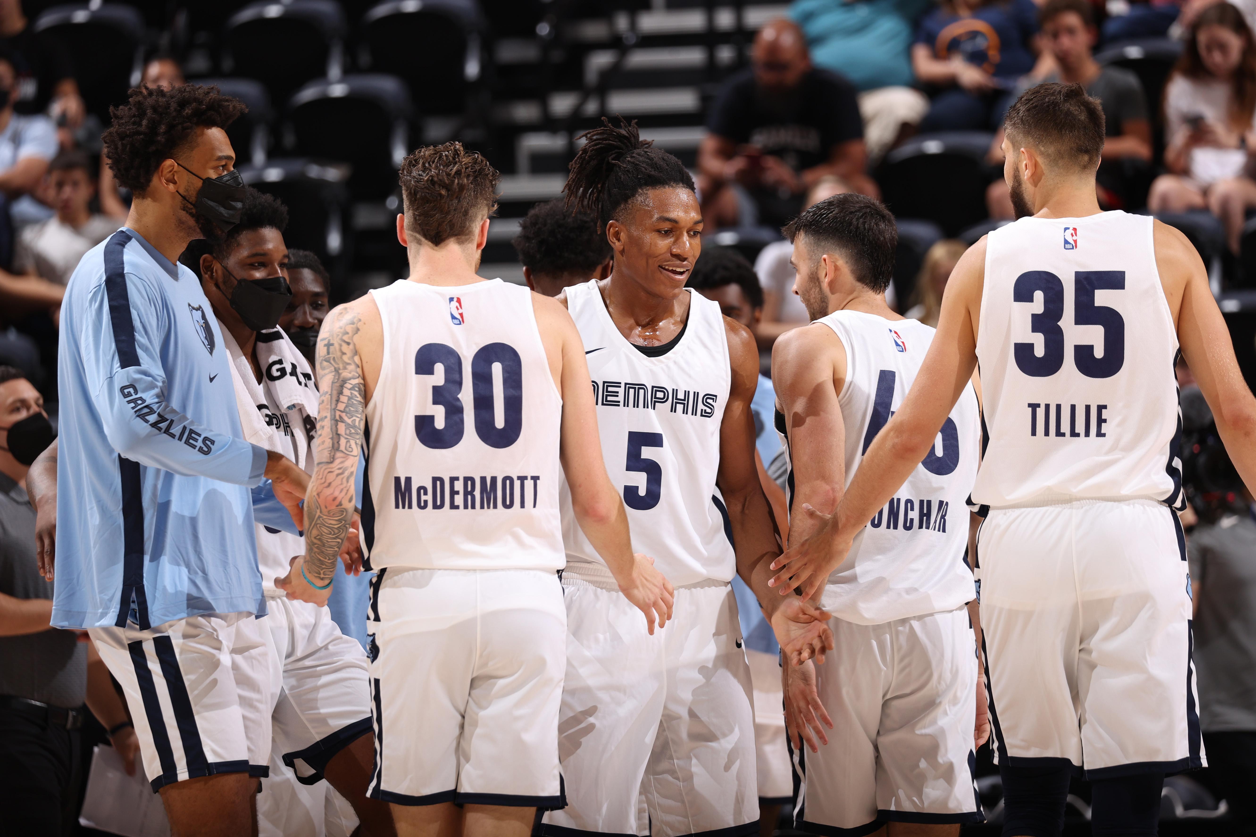2021 Salt Lake City Summer League: Memphis Grizzlies v Utah Jazz Blue