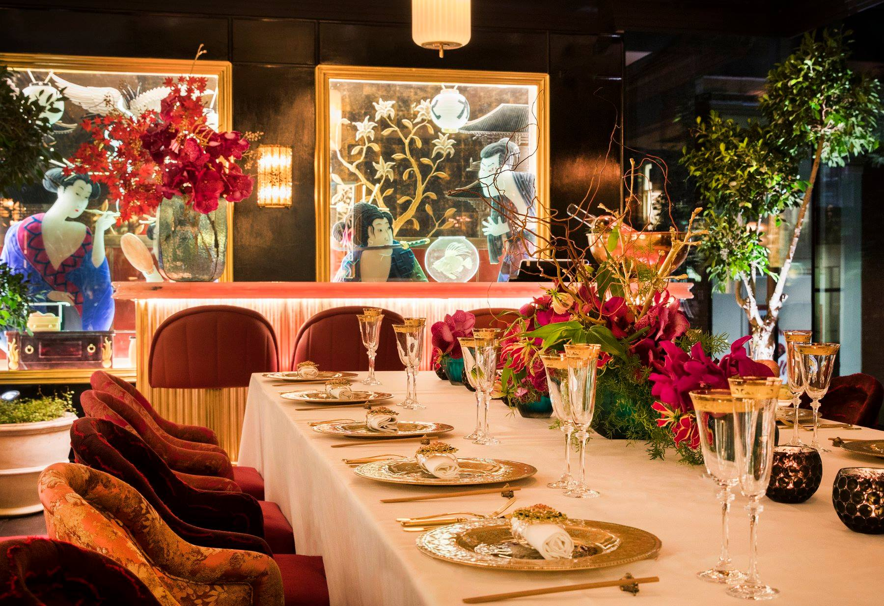 Ivy Asia is Caprice Holdings' restaurant in Spinningfields, Manchester. It will open a second site in London's St Pauls