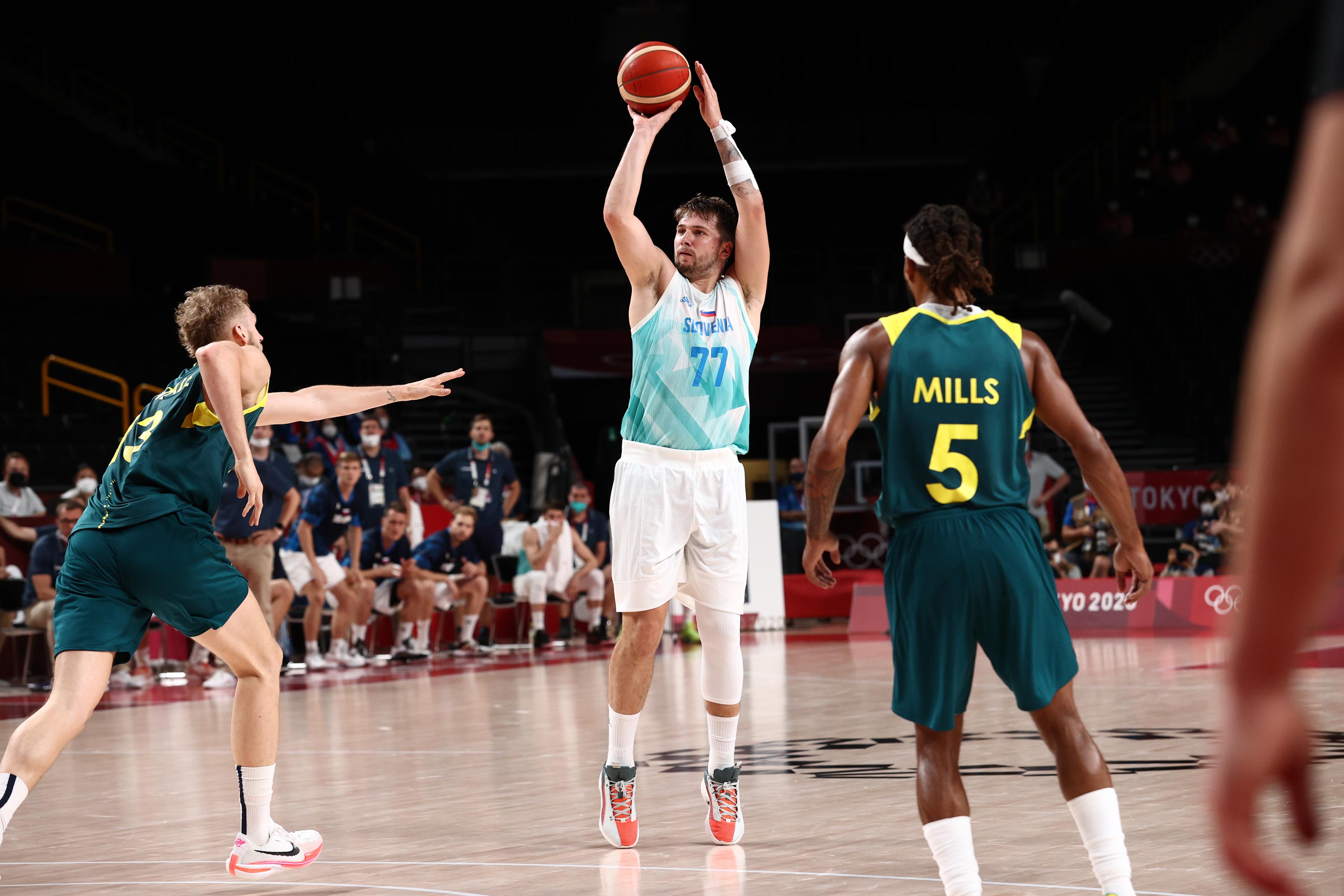 2020 Tokyo Olympics: Slovenia v Australia