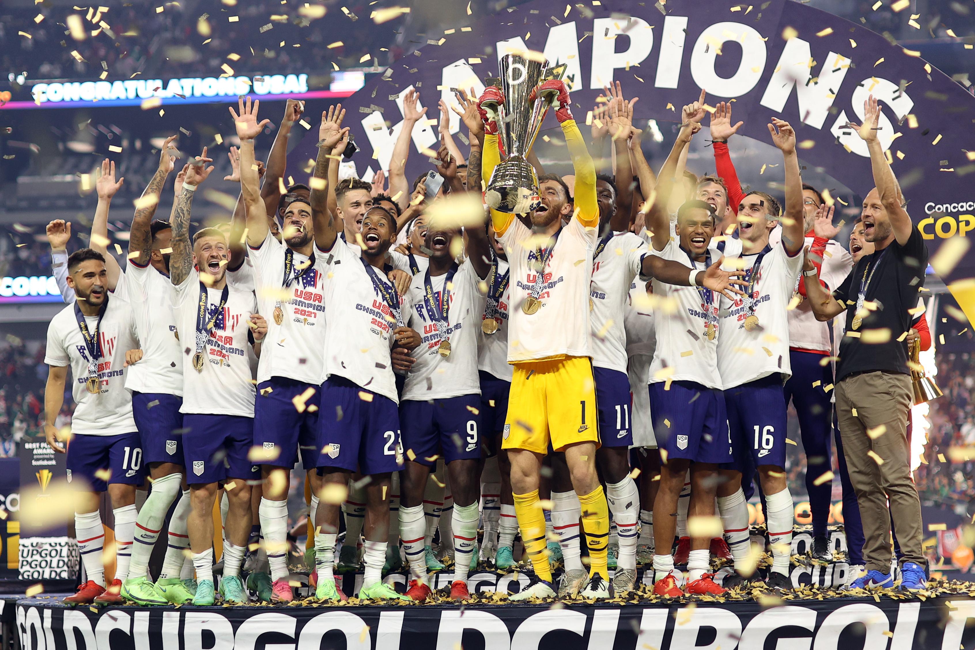 SOCCER: AUG 01 Concacaf Gold Cup Final - USA v Mexico