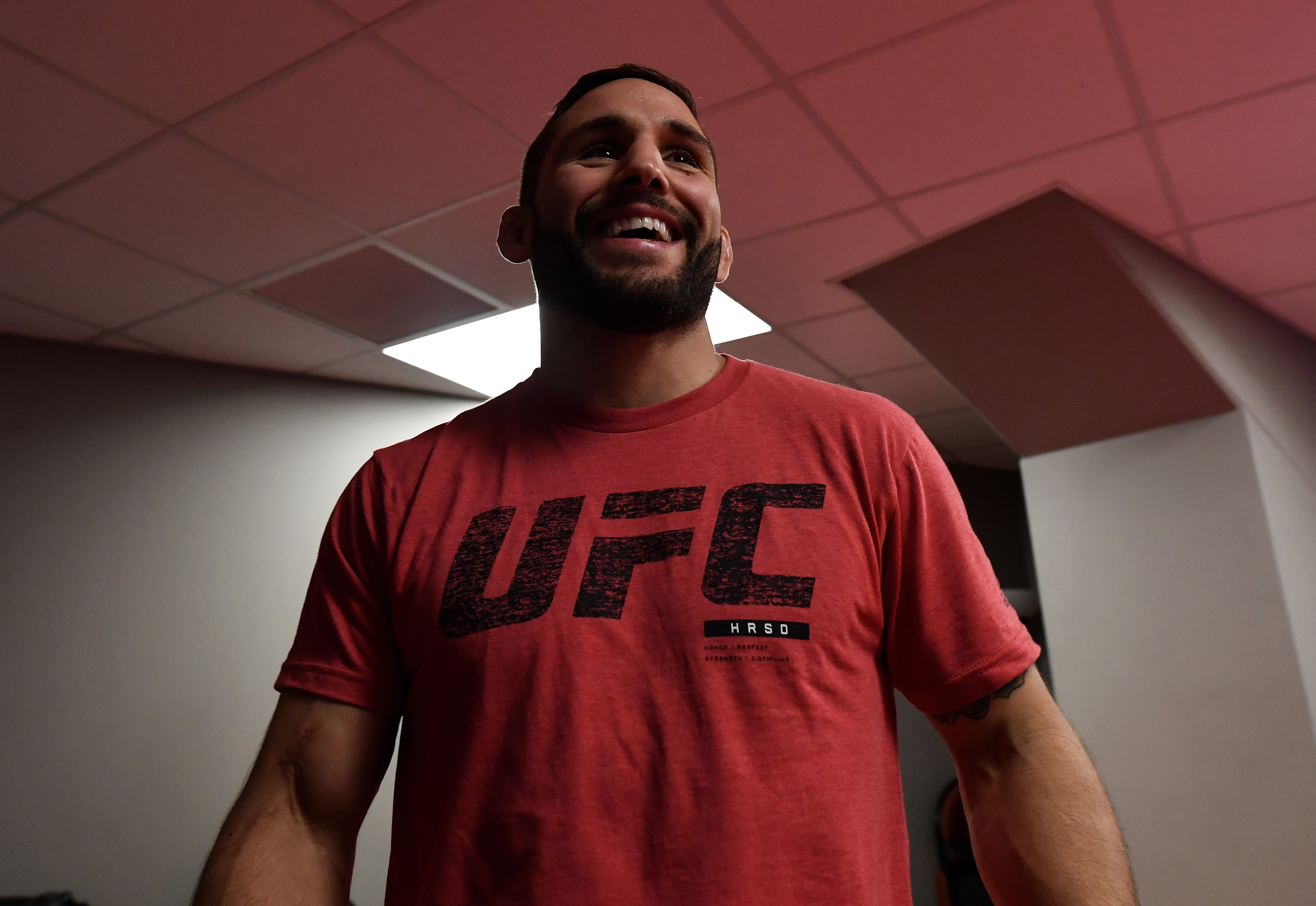 Chad Mendes has nothing but good words for his former employer.