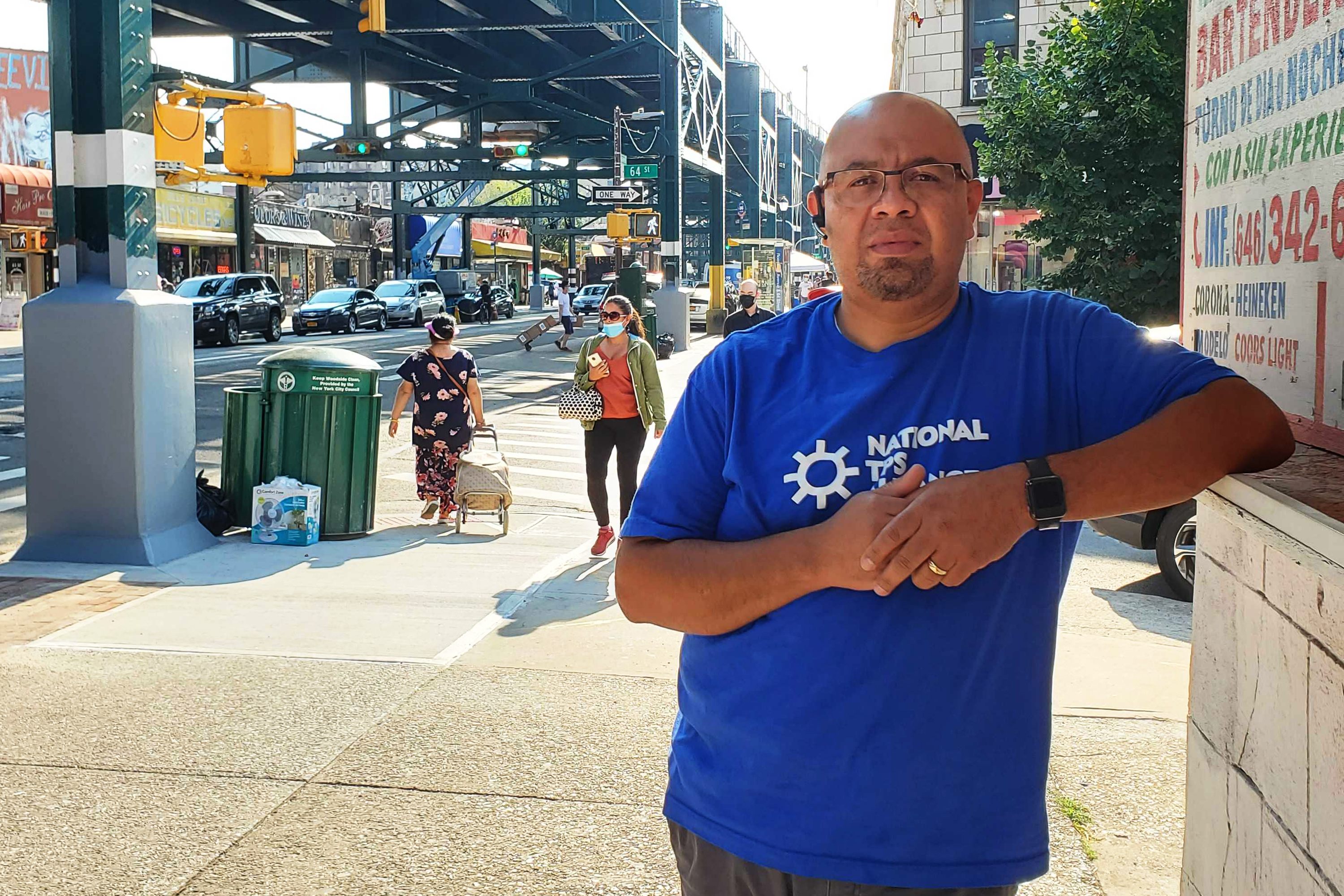 Oscar Rodriguez of the National TFP Alliance's new New York City chapter.
