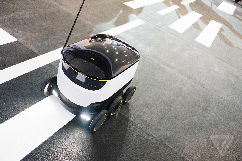Starship autonomous delivery robot