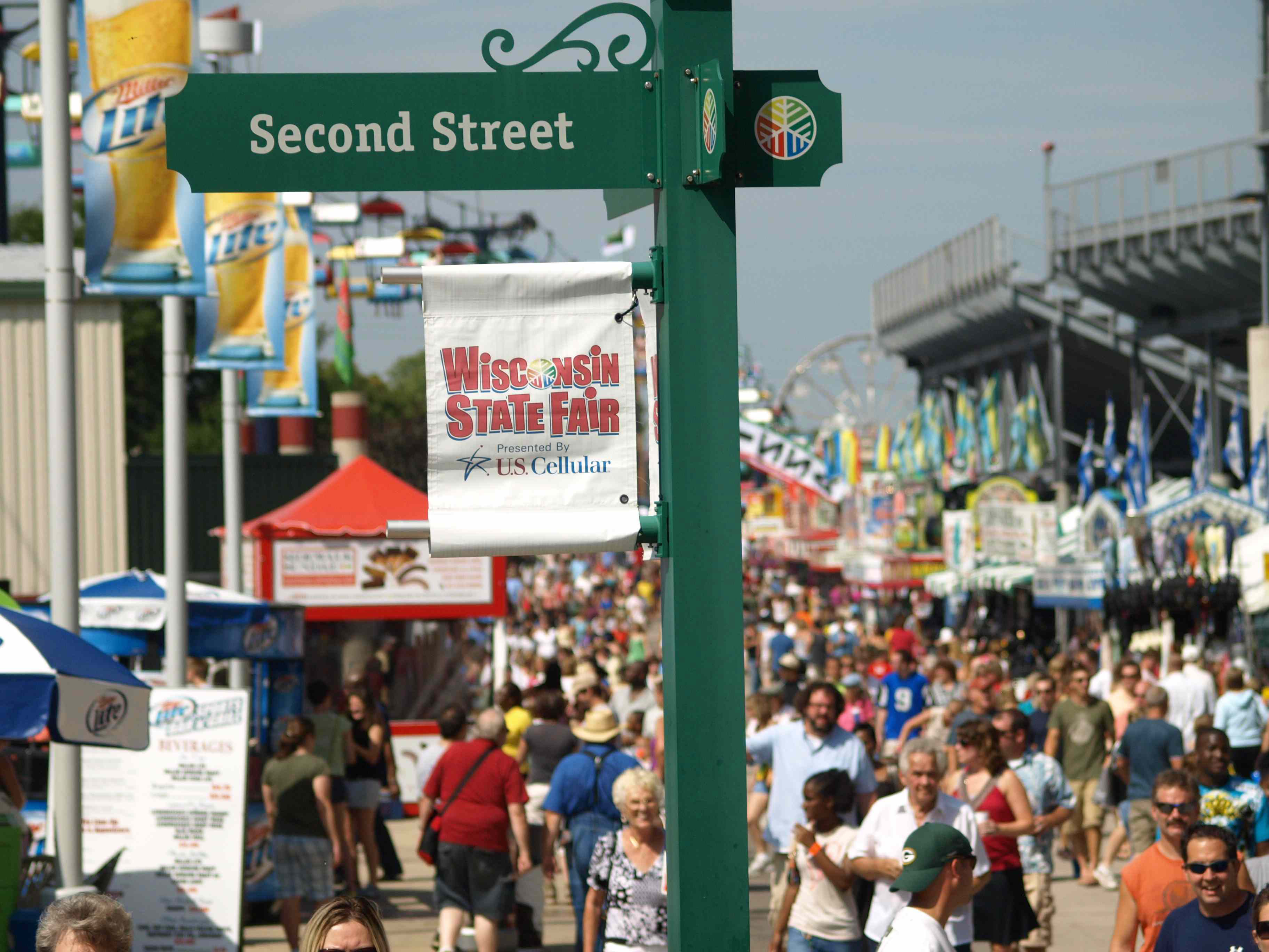 The Wisconsin State Fair in 2011.