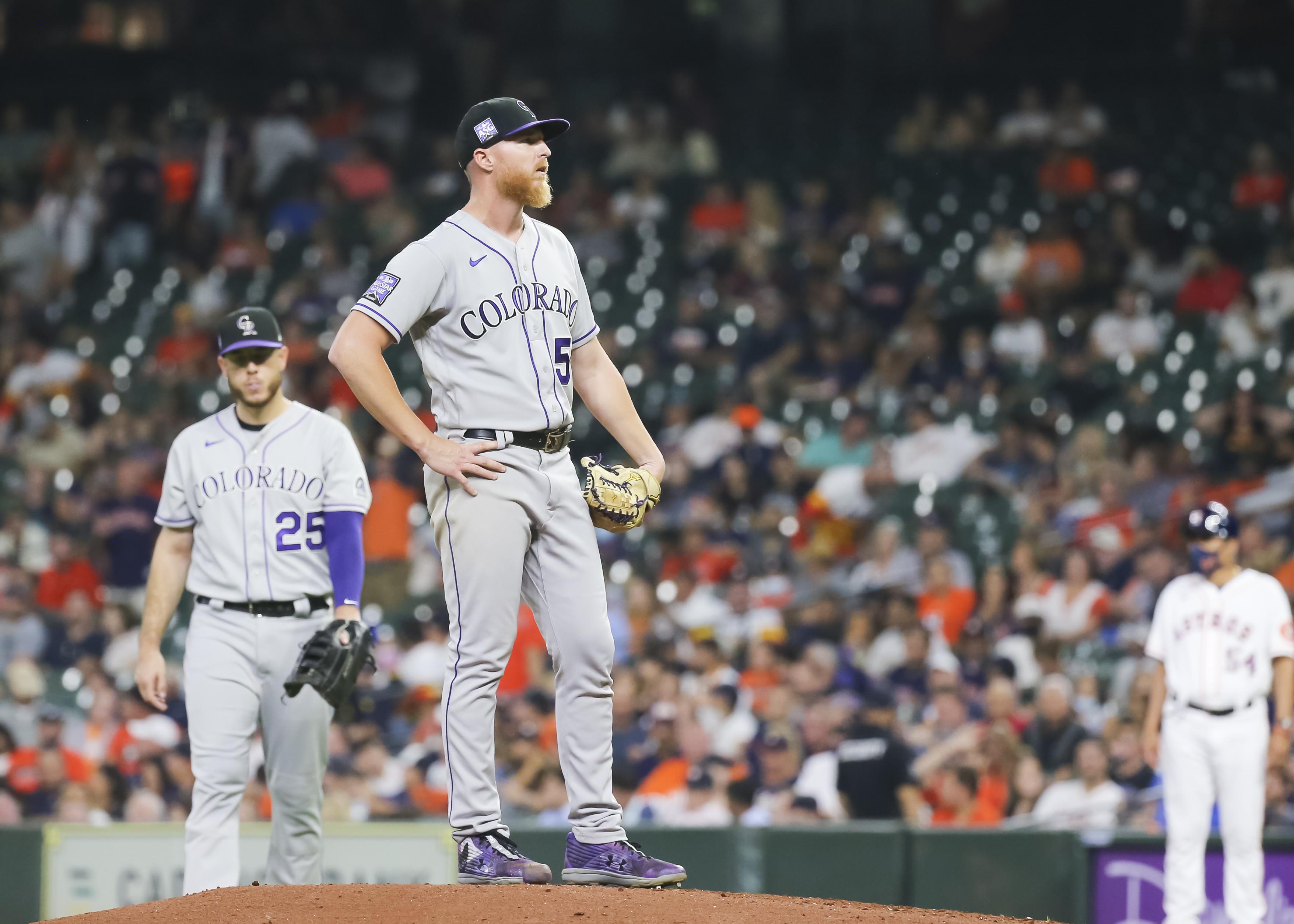 MLB: AUG 10 Rockies at Astros
