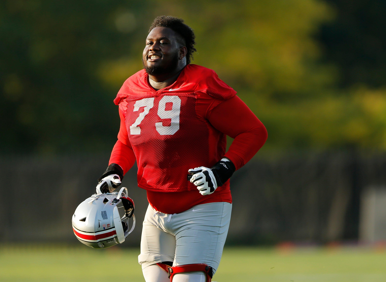 NCAA Football: Ohio State Practice