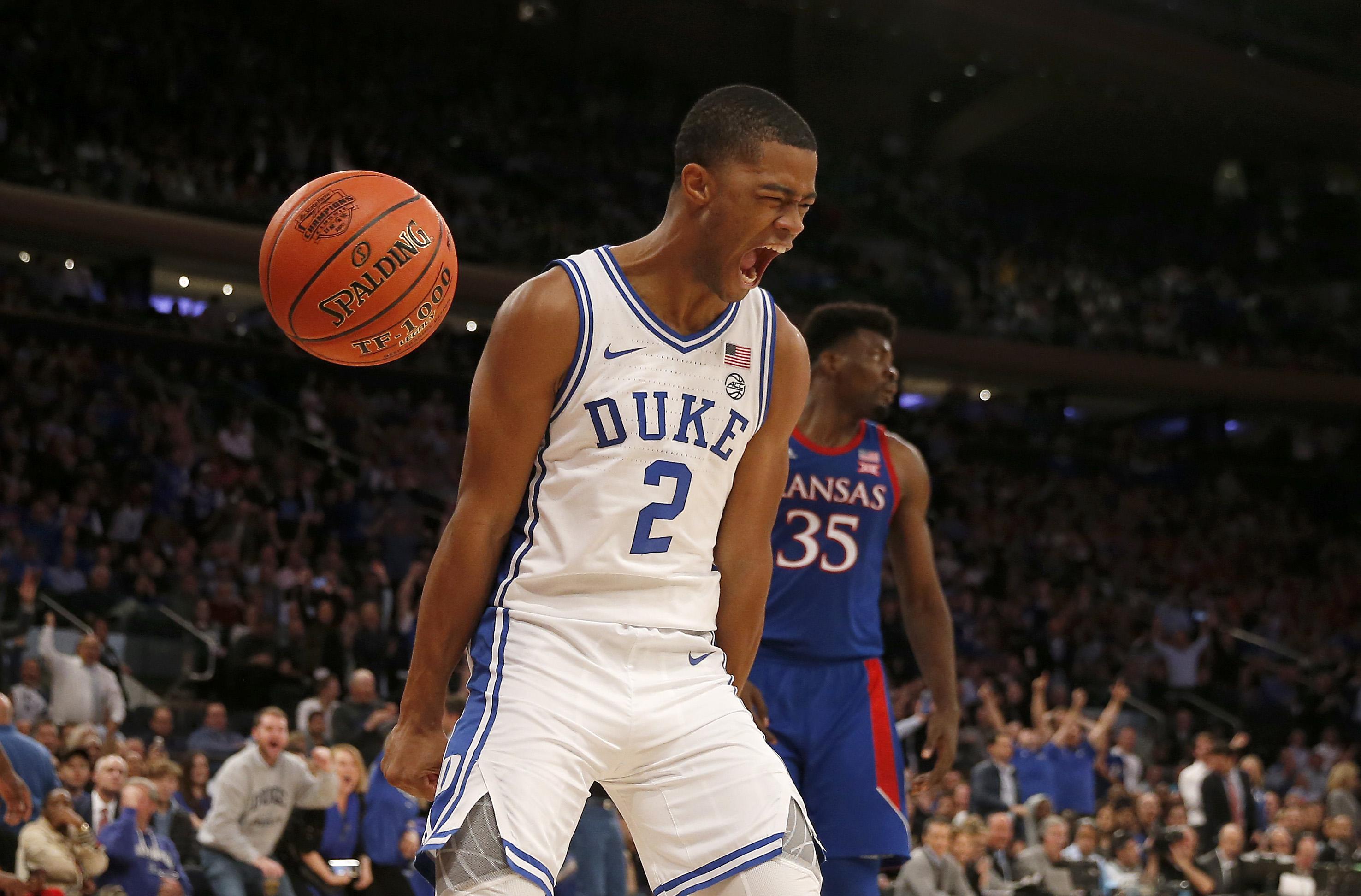 Duke basketball player