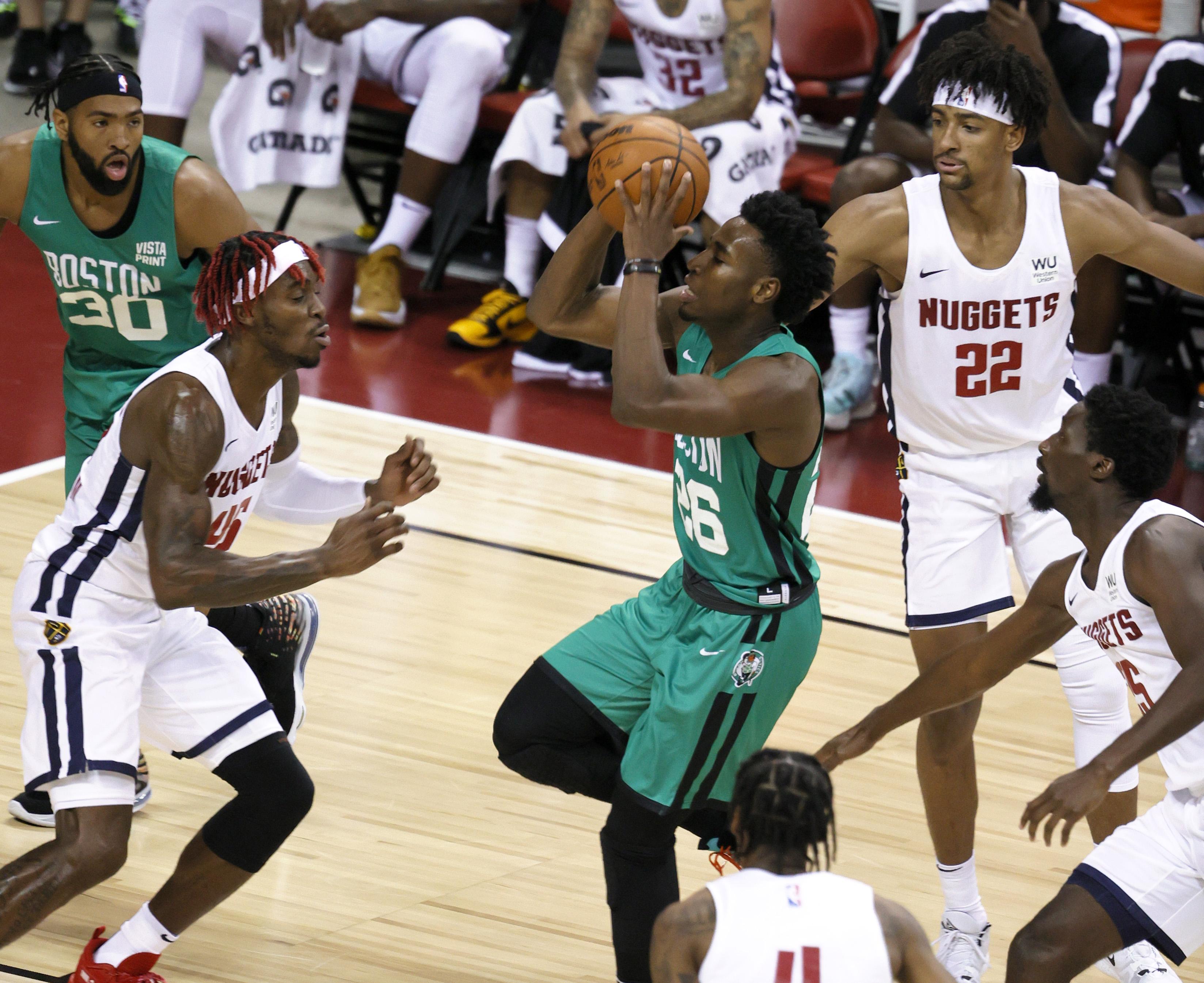Boston Celtics v Denver Nuggets
