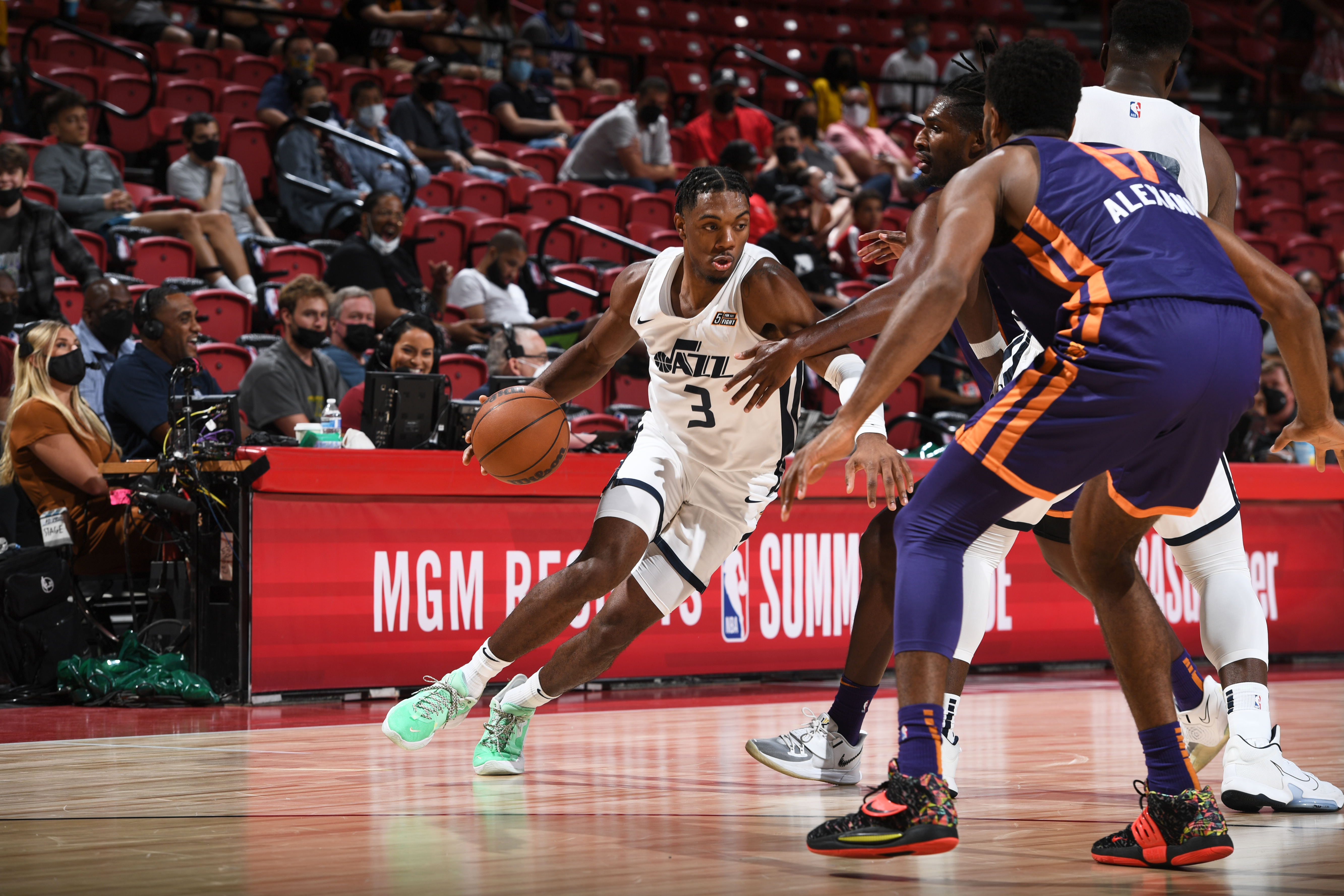 2021 Las Vegas Summer League - Phoenix Suns v Utah Jazz