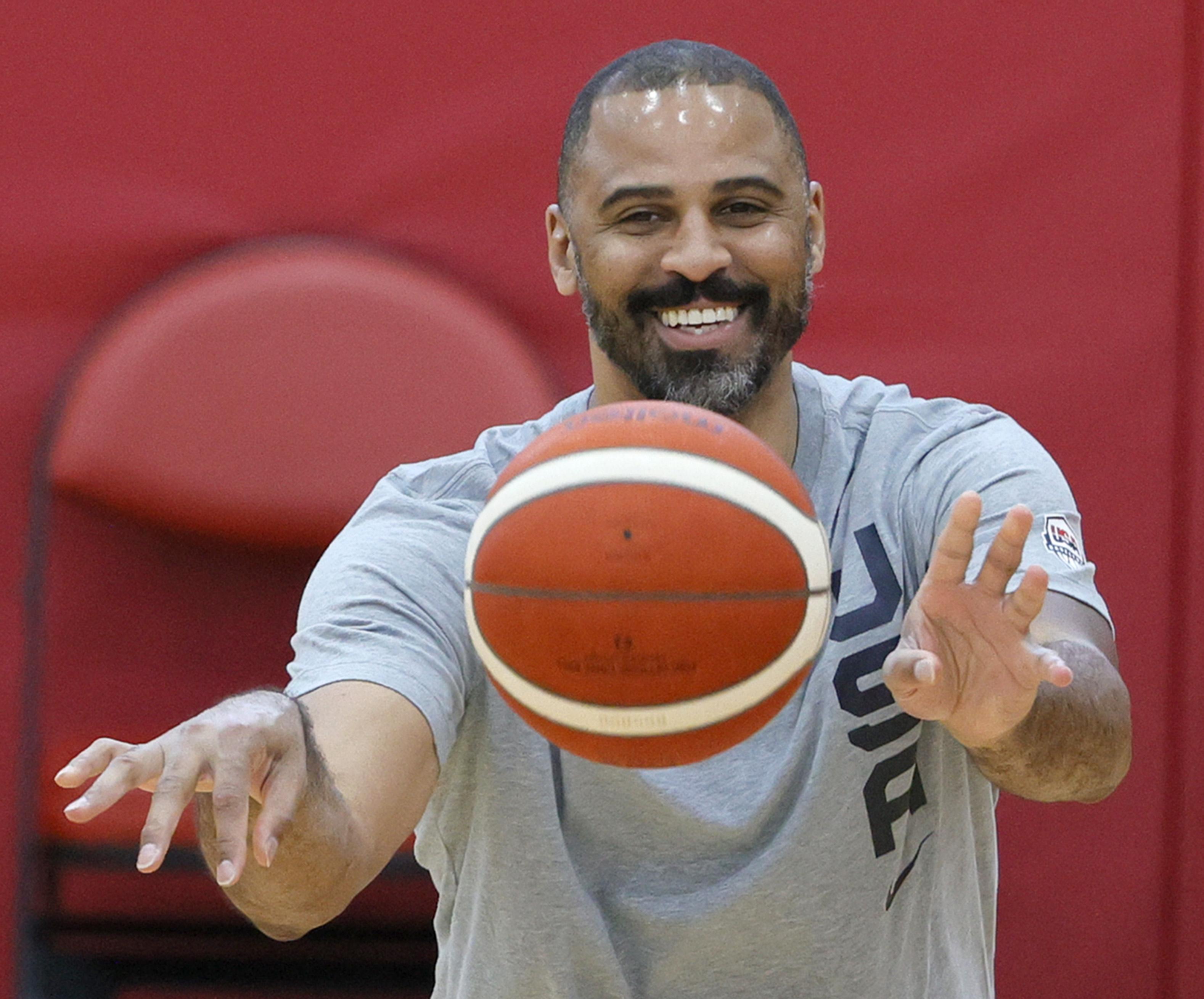 Team USA Basketball Training Session
