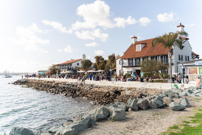 Seaport Village and promenade