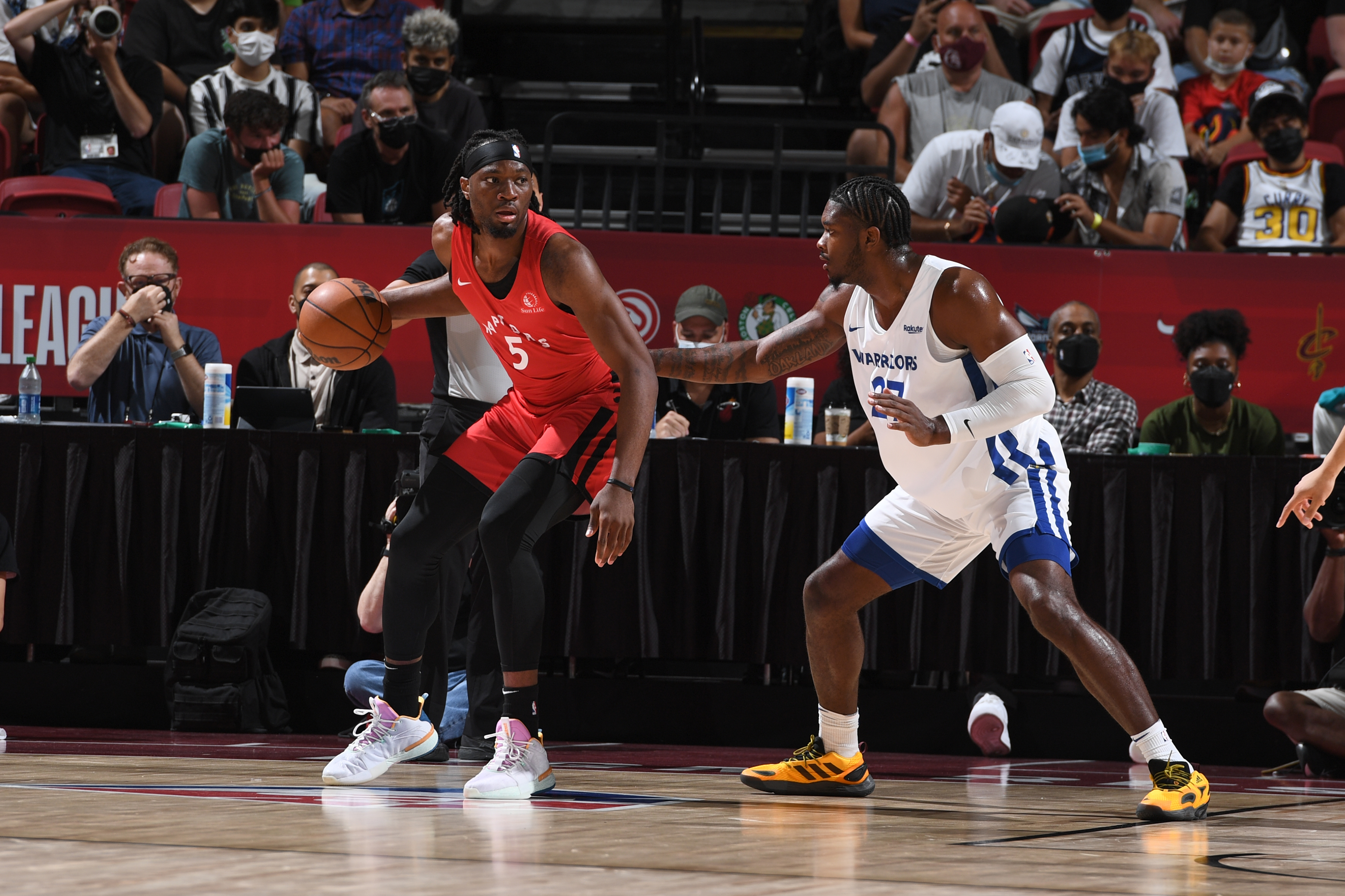 2021 Las Vegas Summer League - Toronto Raptors v Golden State Warriors