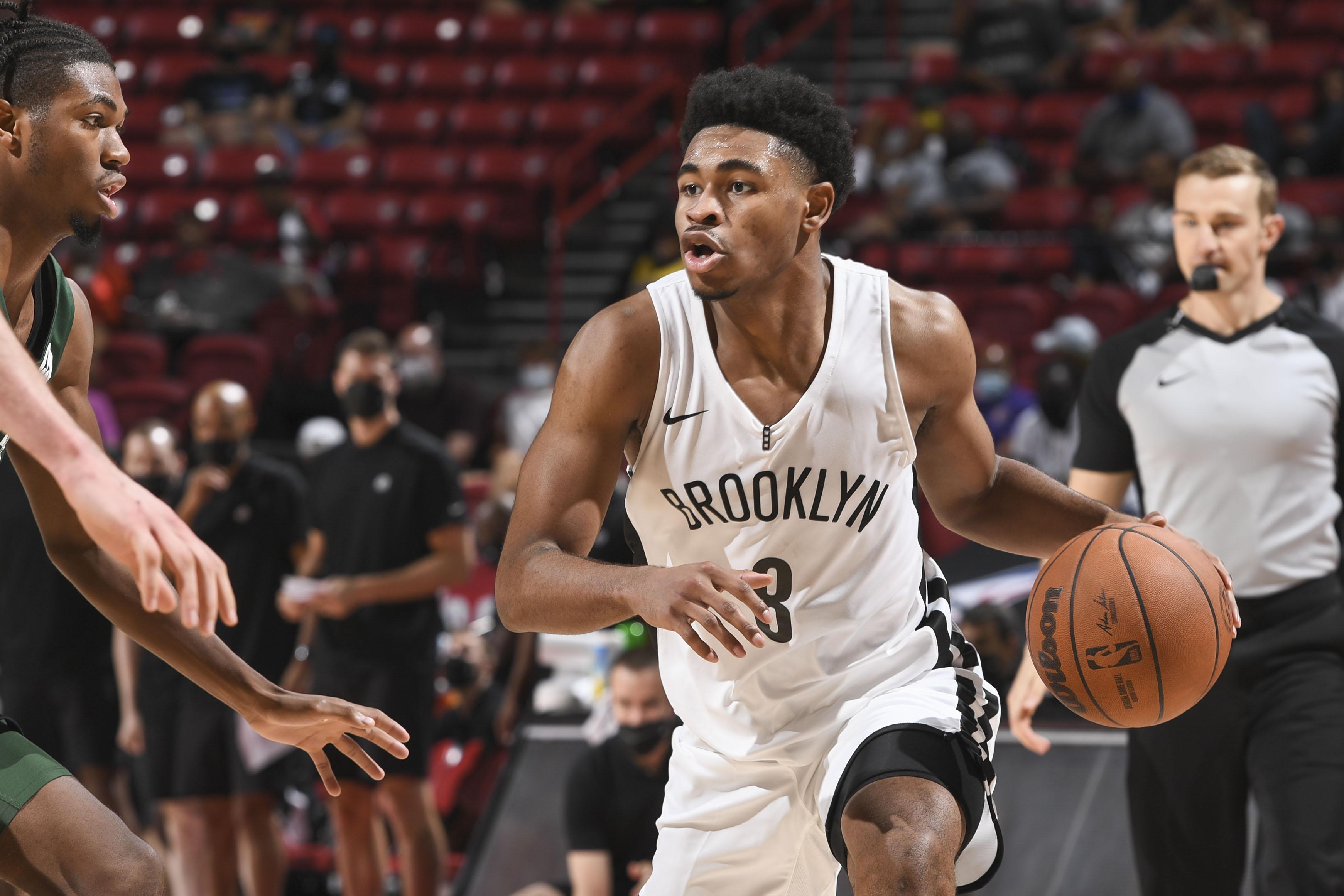 2021 Las Vegas Summer League - Milwaukee Bucks v Brooklyn Nets