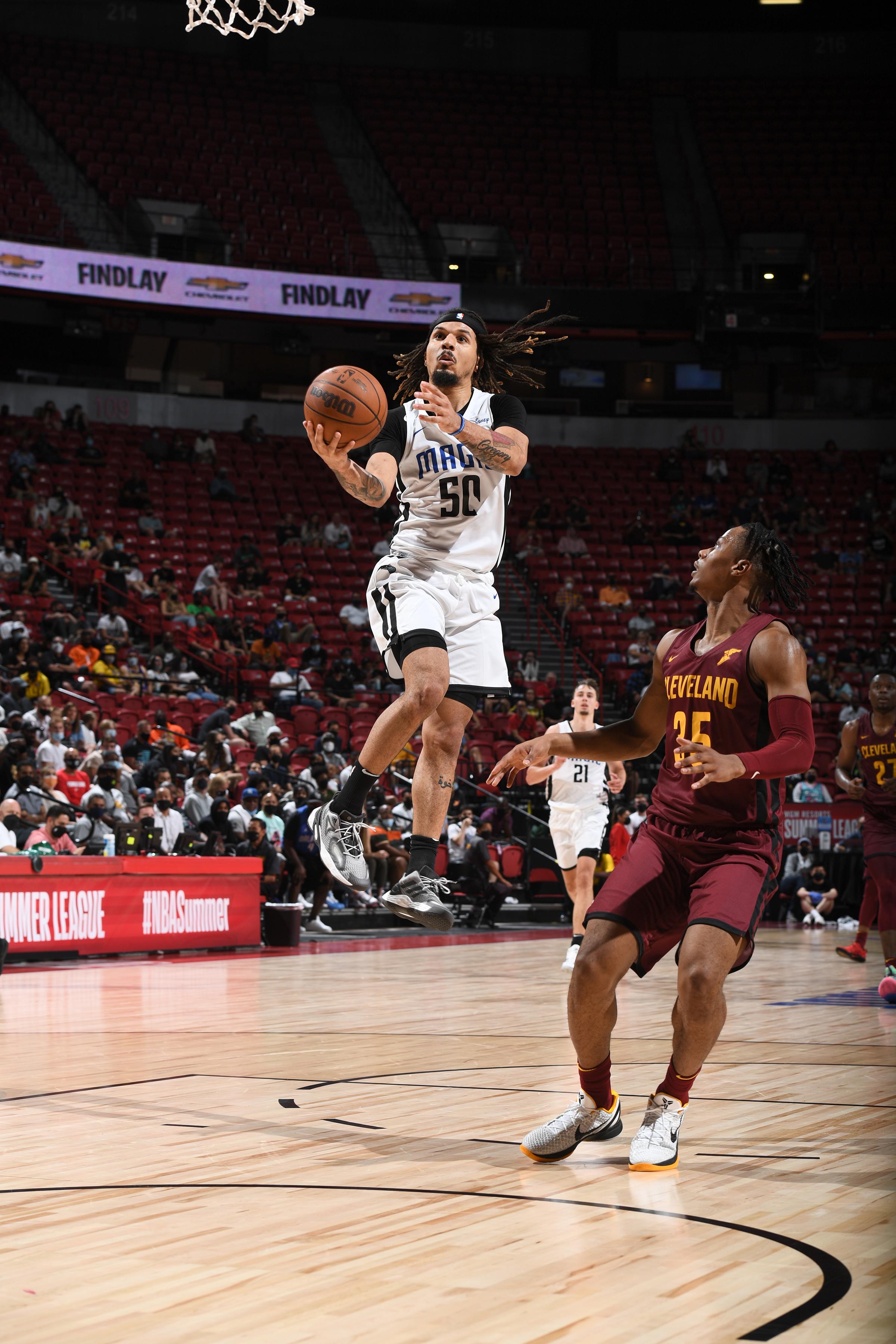 2021 Las Vegas Summer League - Cleveland Cavaliers v Orlando Magic