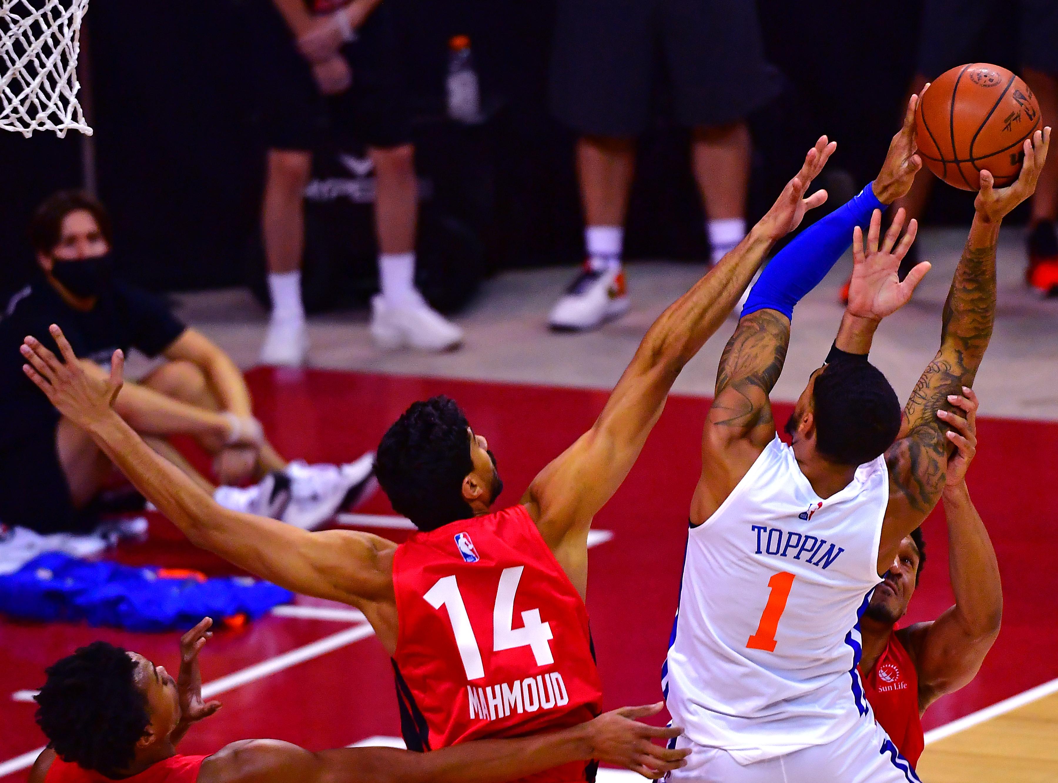 NBA: Summer League-Toronto Raptors at New York Knicks