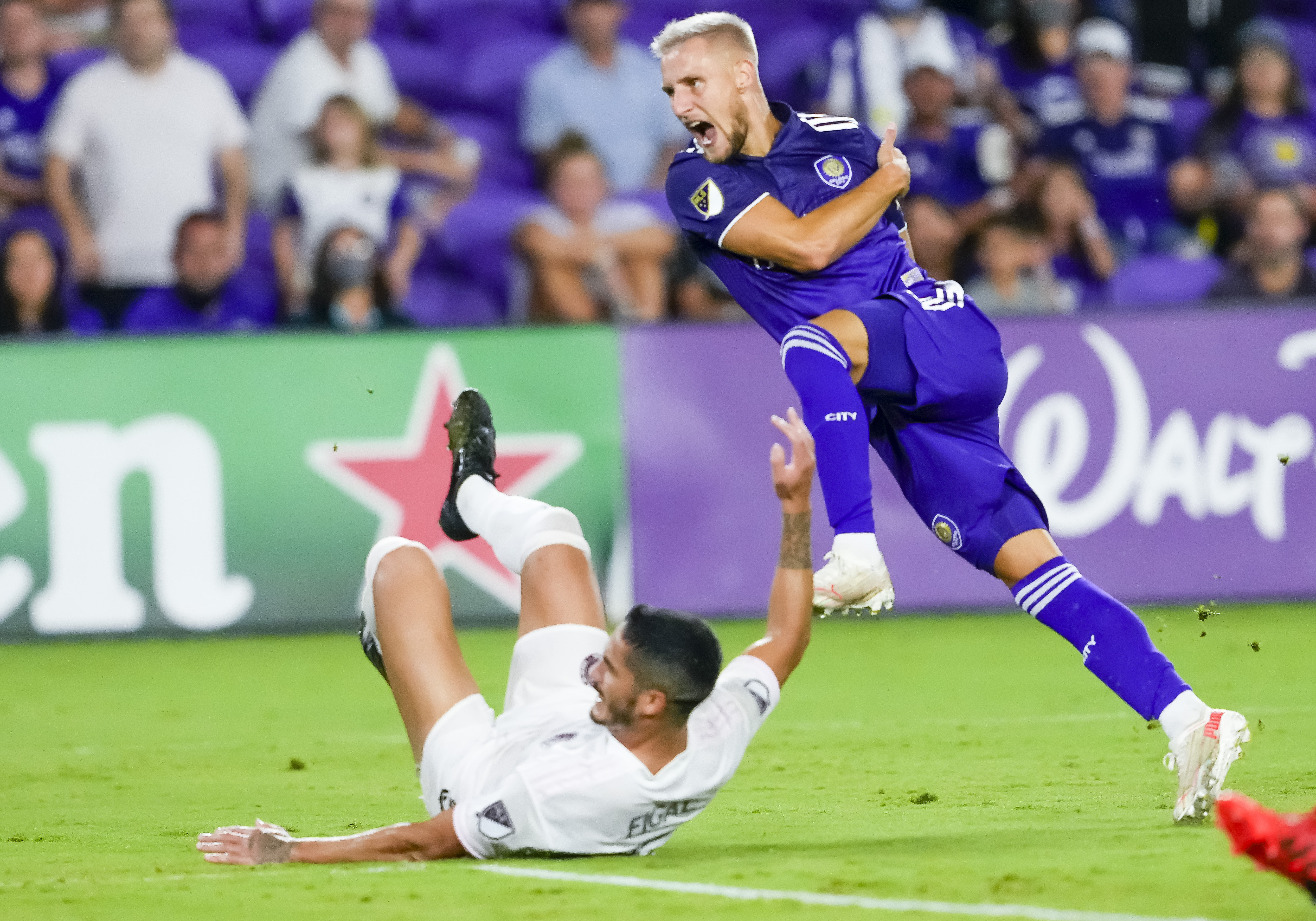 SOCCER: AUG 04 MLS - Inter Miami CF at Orlando City SC