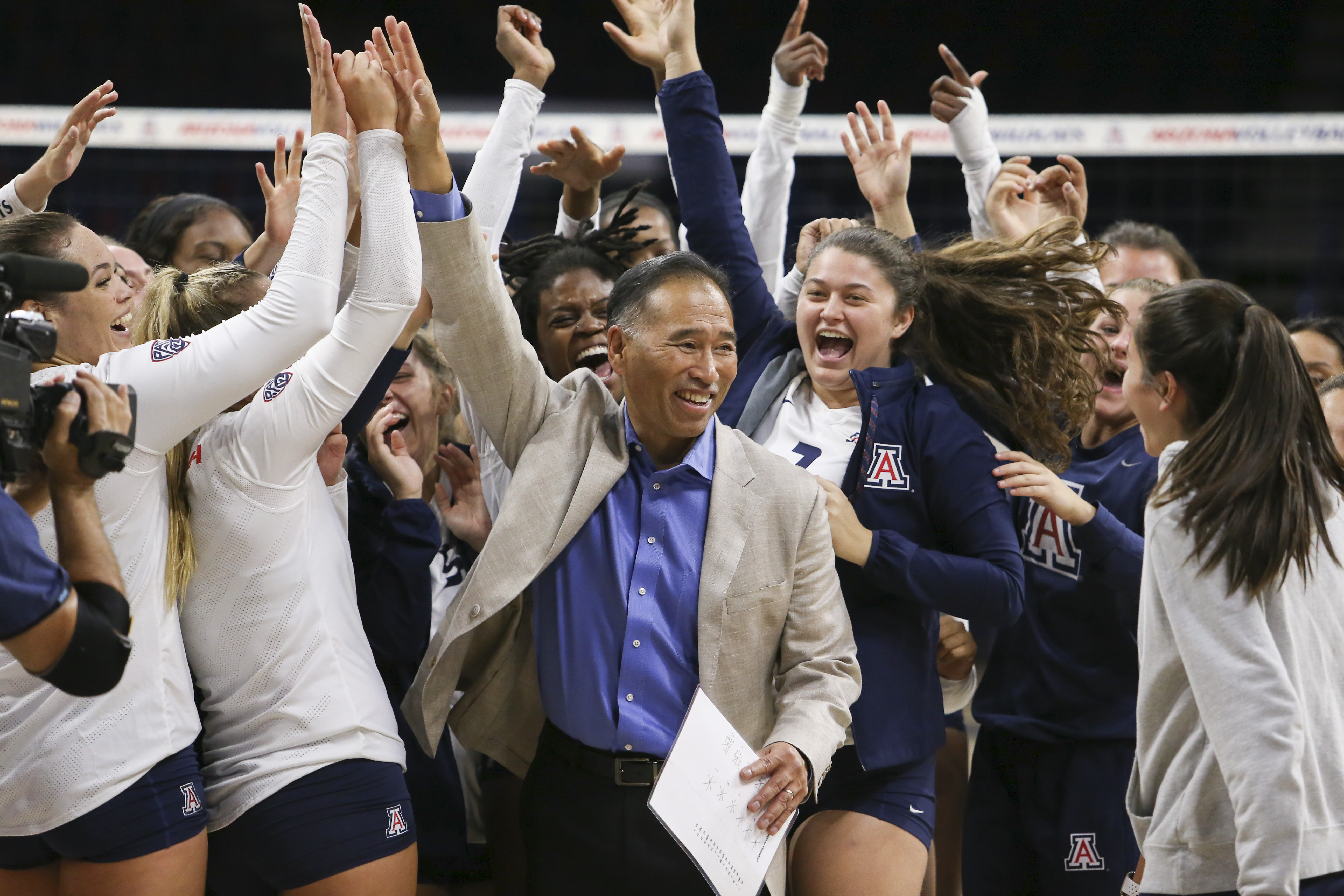 COLLEGE VOLLEYBALL: SEP 14 New Mexico State at Arizona