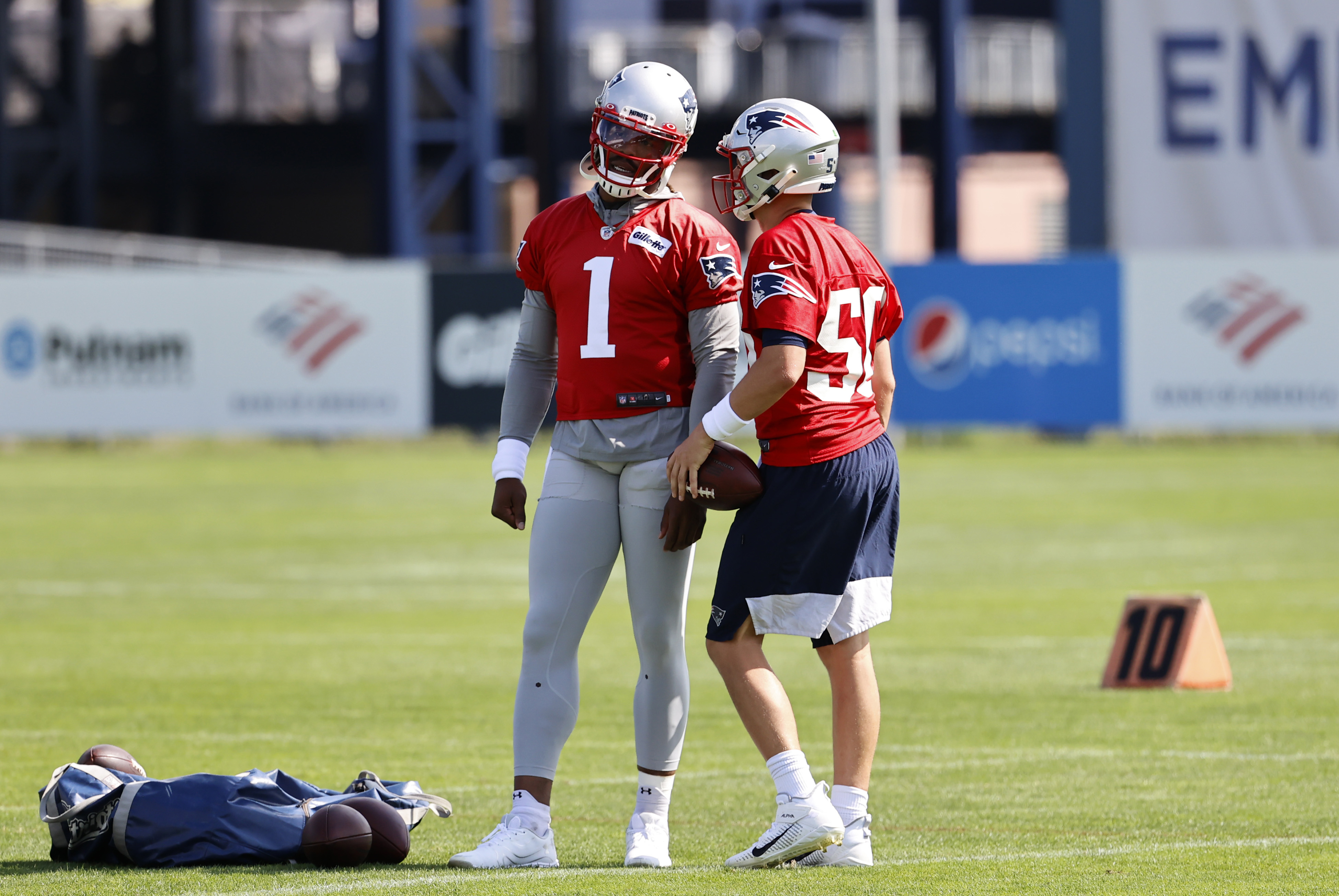 NFL: JUL 30 New England Patriots Training Camp