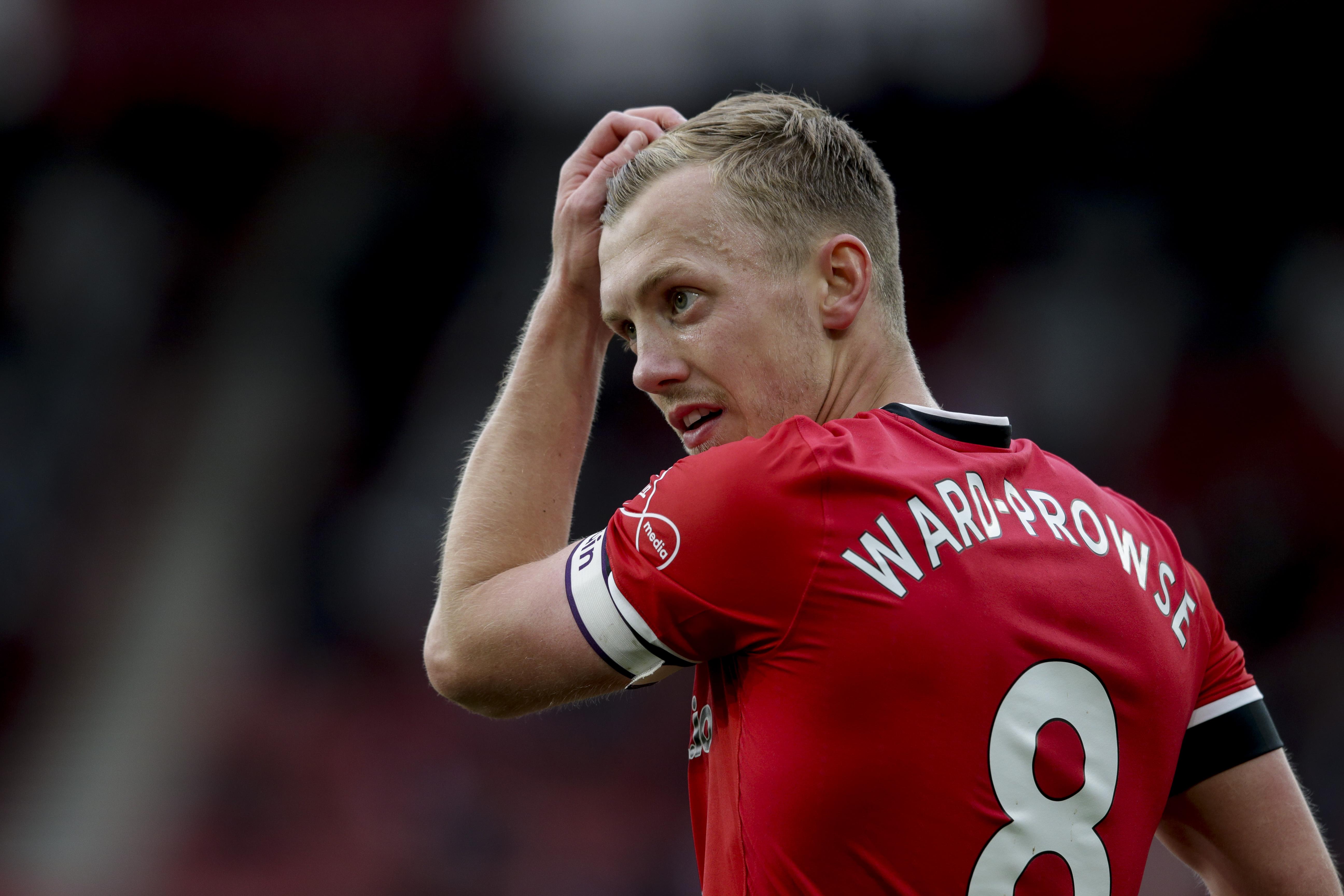 Southampton, Everton, team news, injury update, James Ward-Prowse