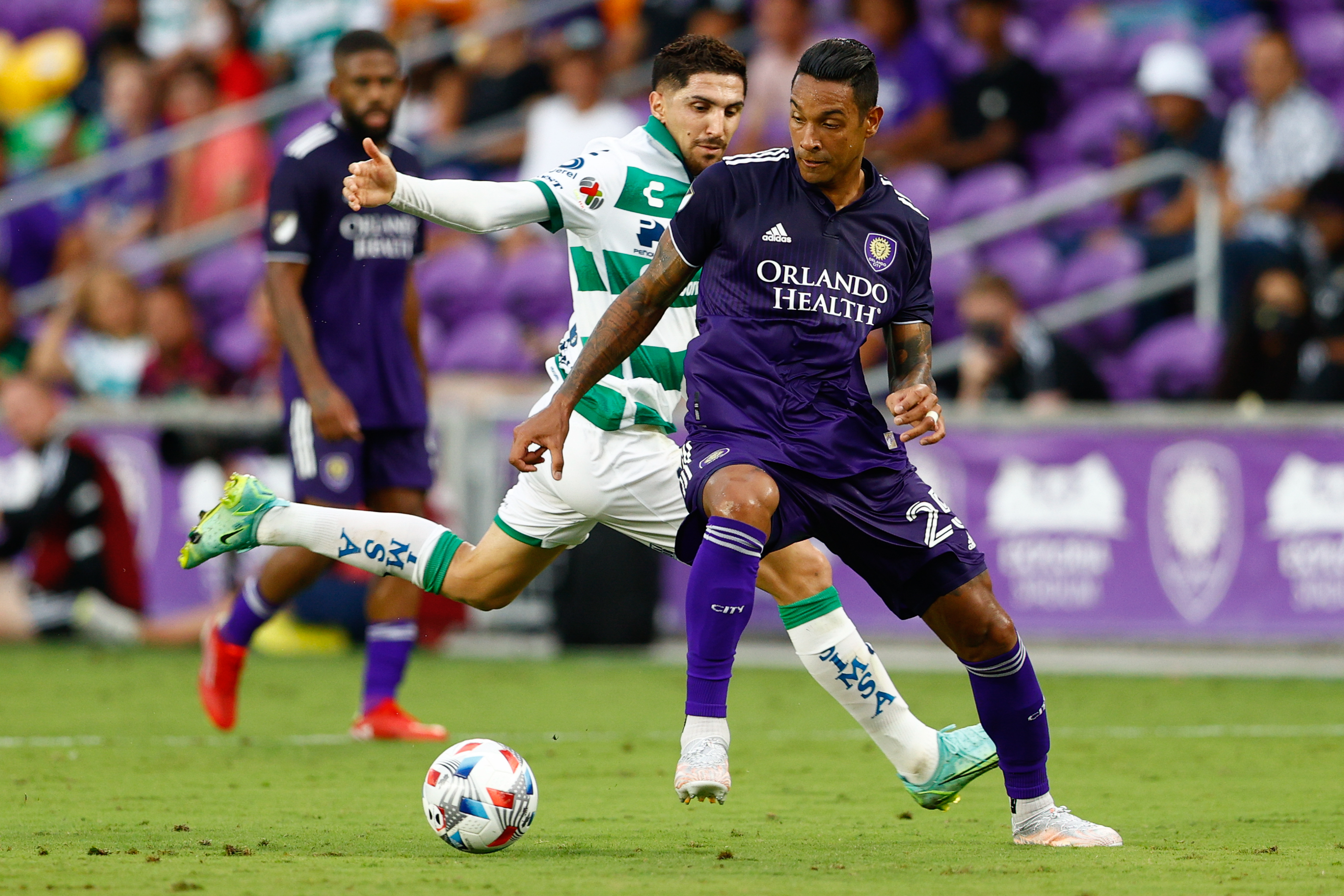 MLS: Leagues Cup Quarterfinals-Orlando City SC vs Santos Laguna