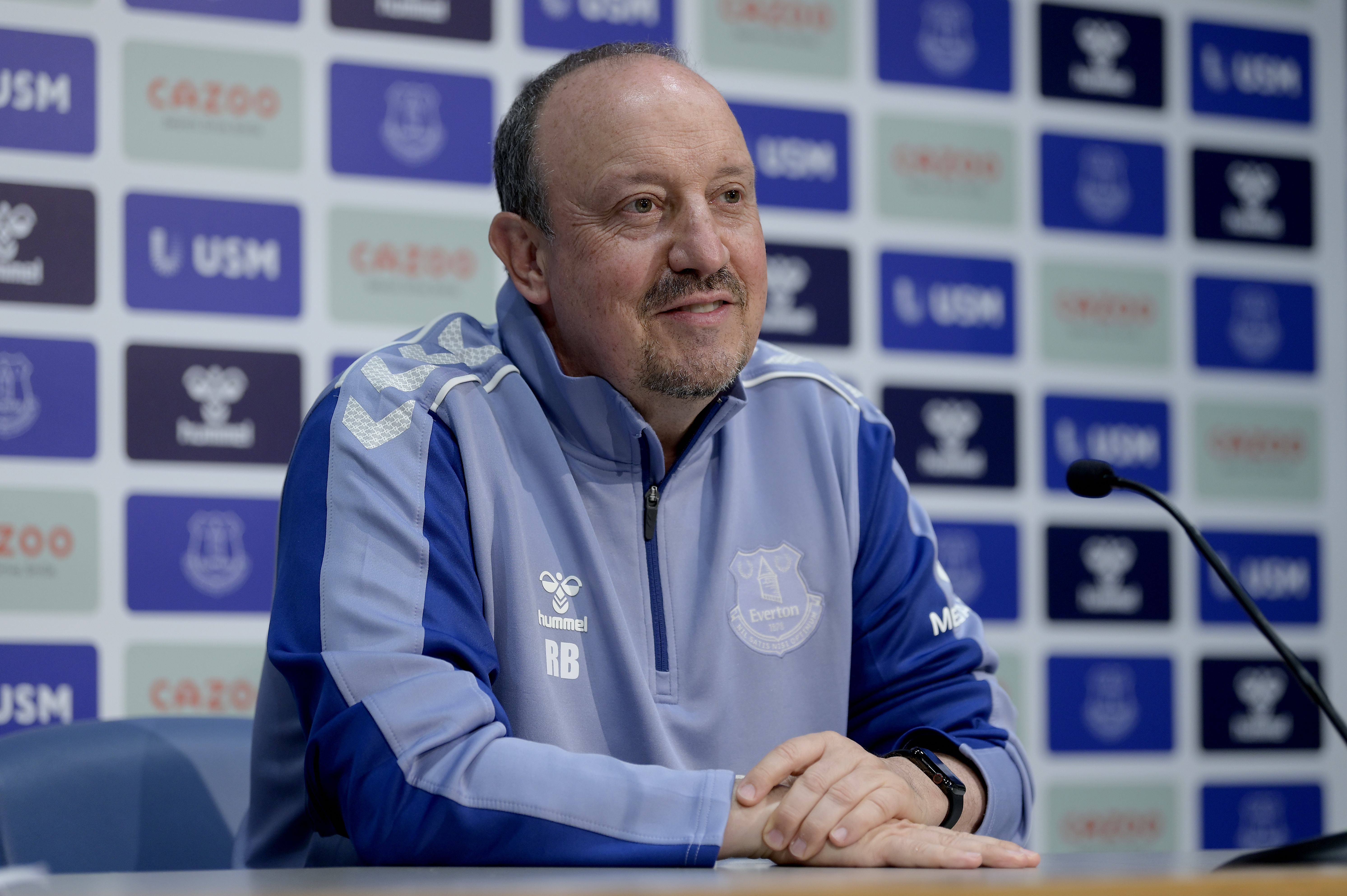 Rafael Benitez First Press Conference at Everton